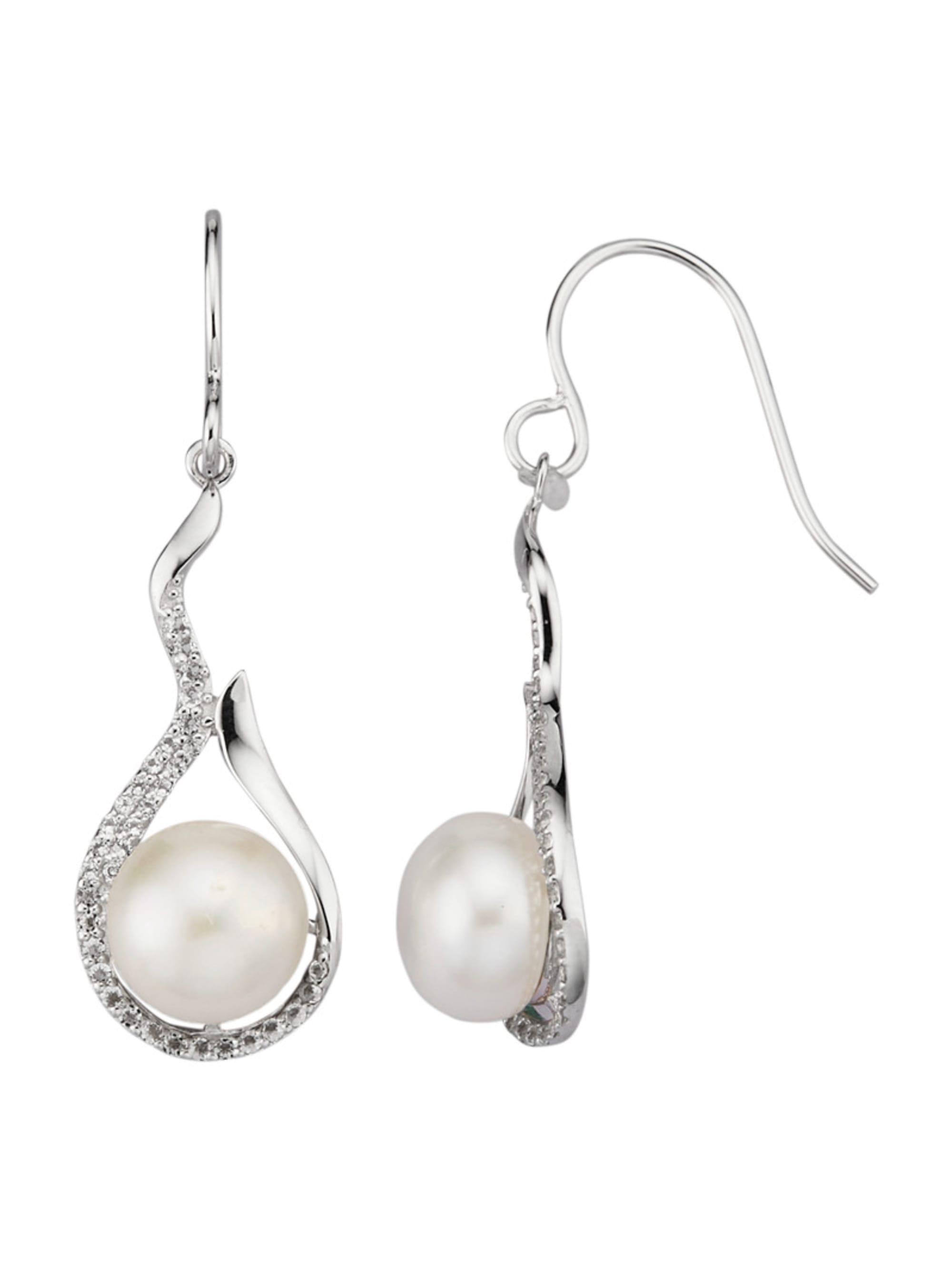 Diemer Perle Ohrringe in Weißgold 585 X8EWC