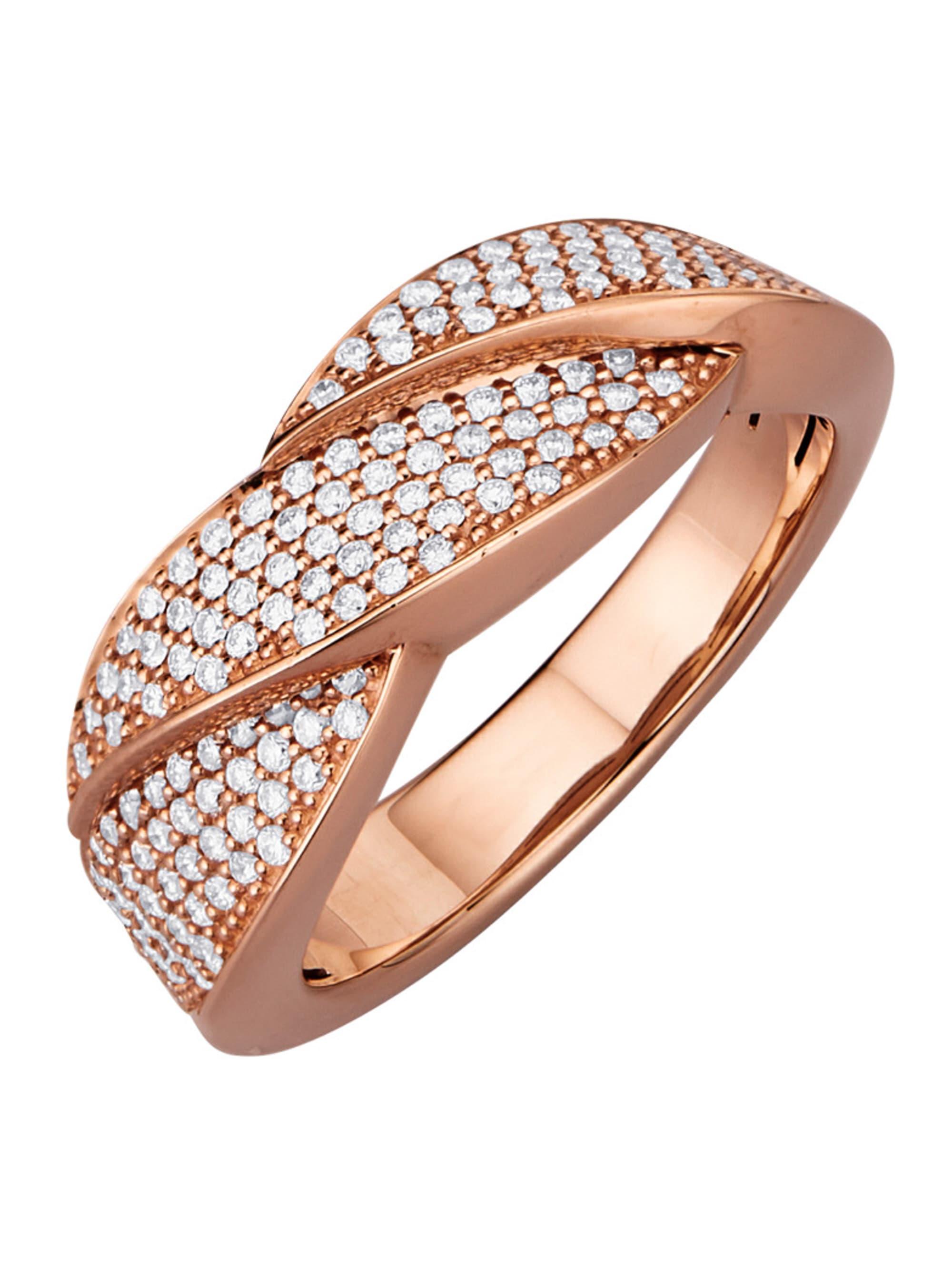 Diemer Diamant Damenring mit Brillanten uVJcz