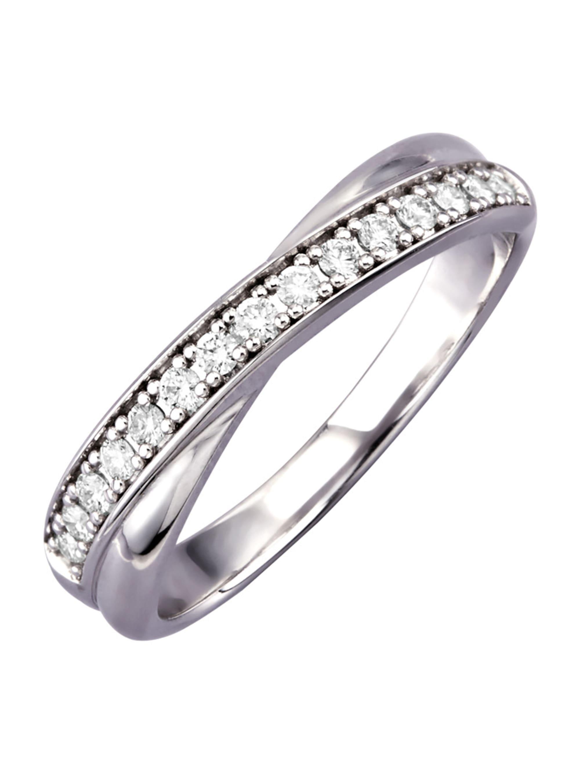 Diemer Diamant Damenring mit Brillanten 0wc89