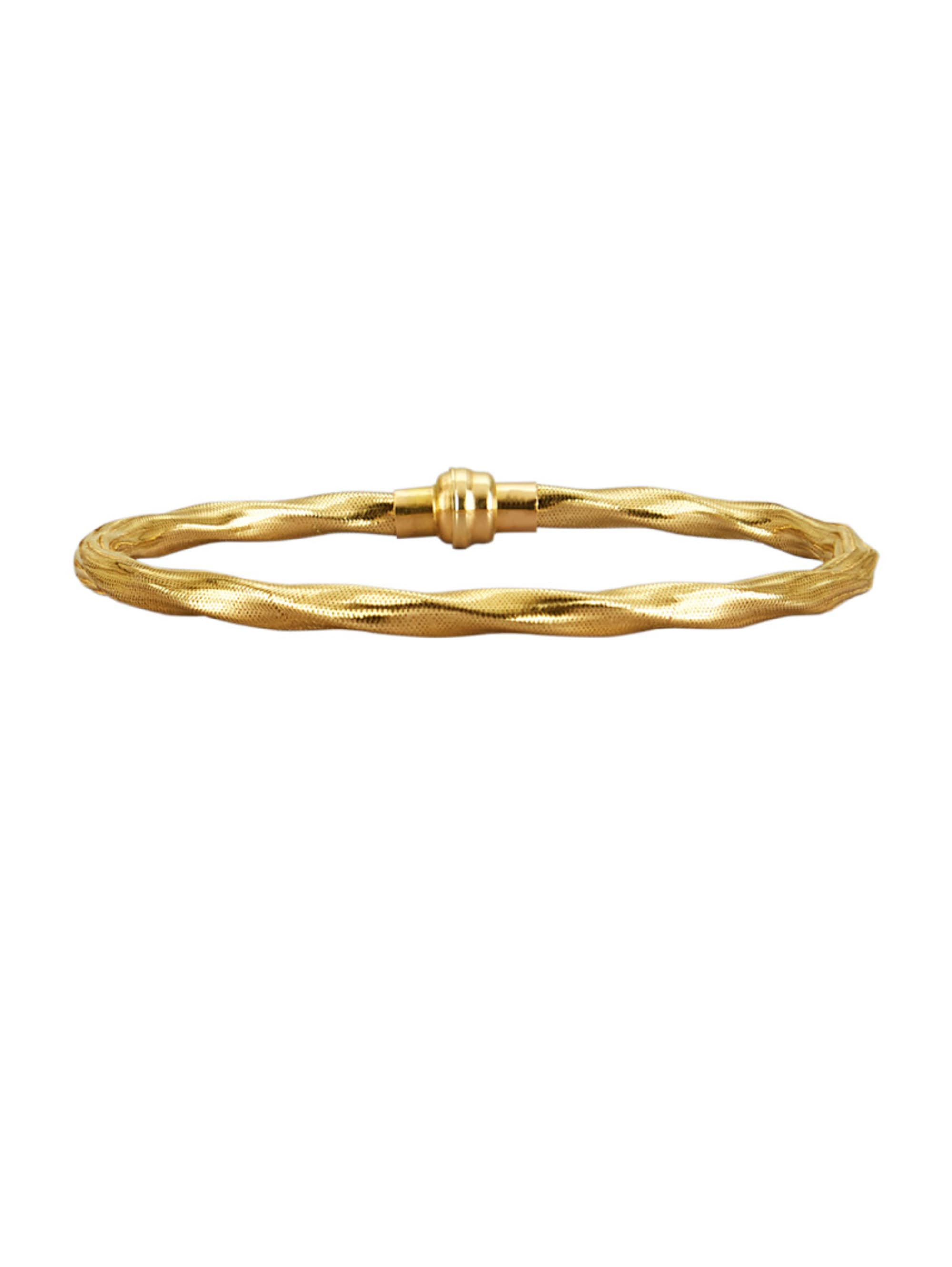 Armband in Gelbgold 375 6nFWo