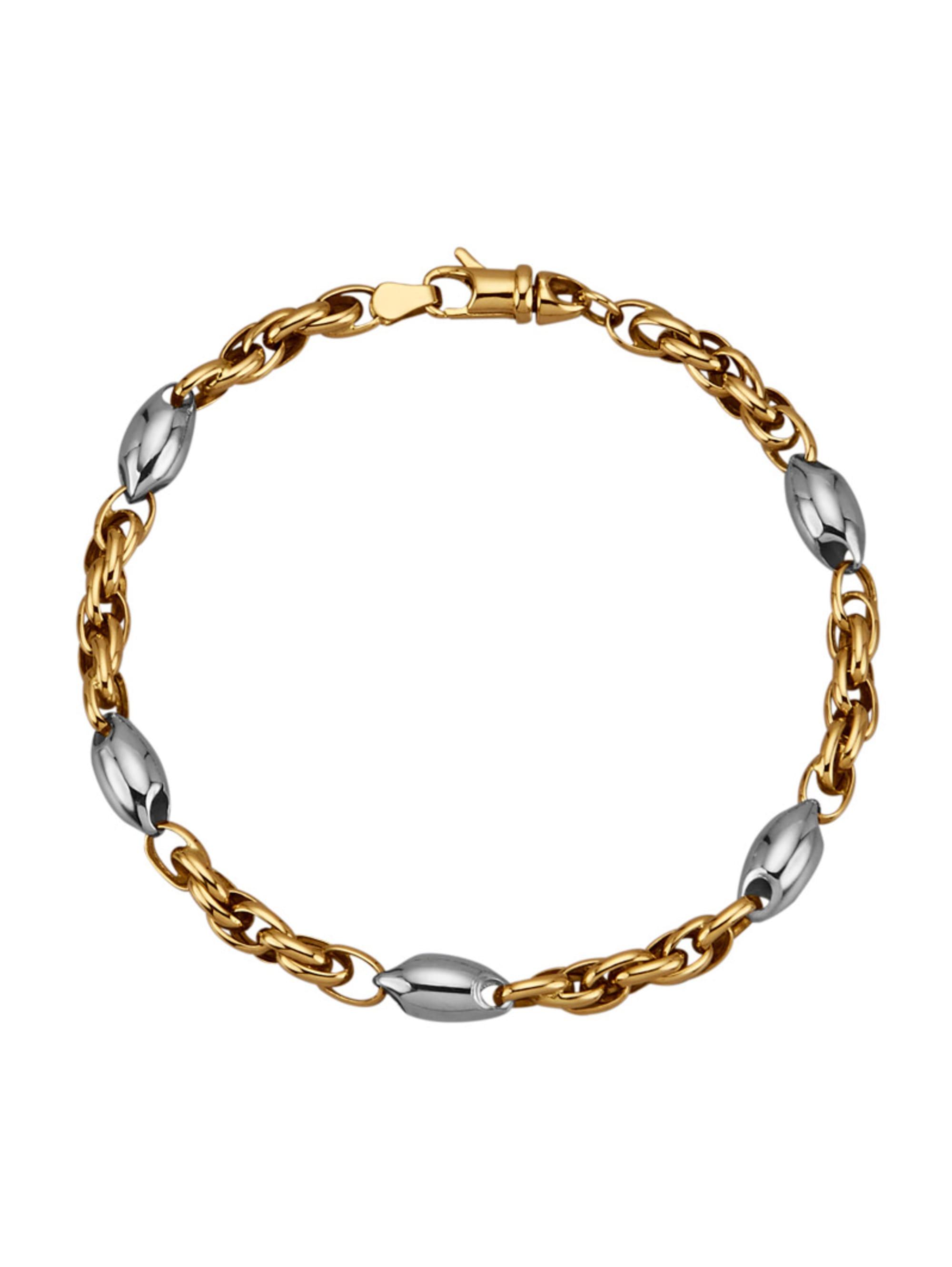 Diemer Gold Armband in Gelbgold 585 pGMo2