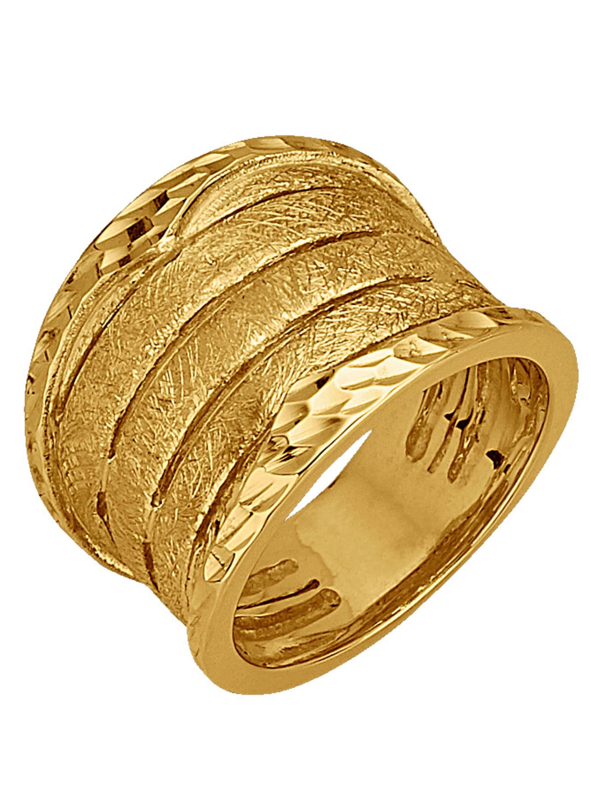 Damenring in Gelbgold 375 YTJtj