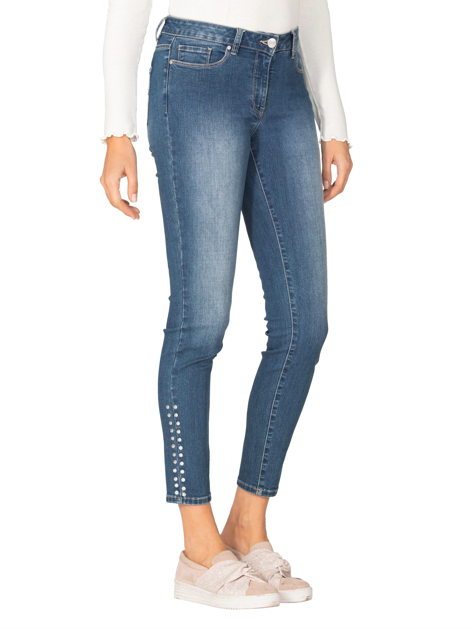 AMY VERMONT Jeans mit Nieten ACJZG 09xkC