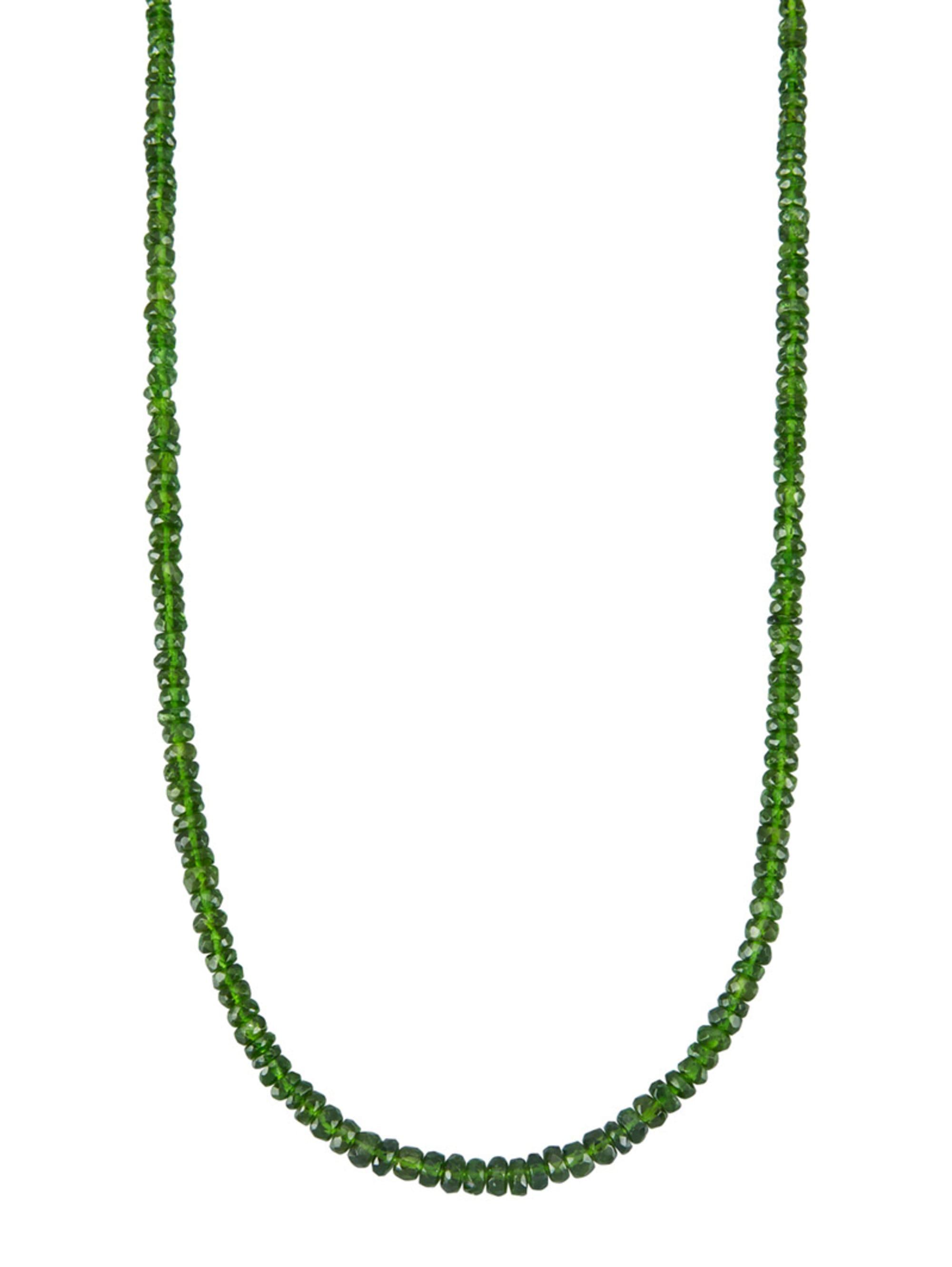 Diemer Farbstein Halskette in Gelbgold 585 tC5kQ