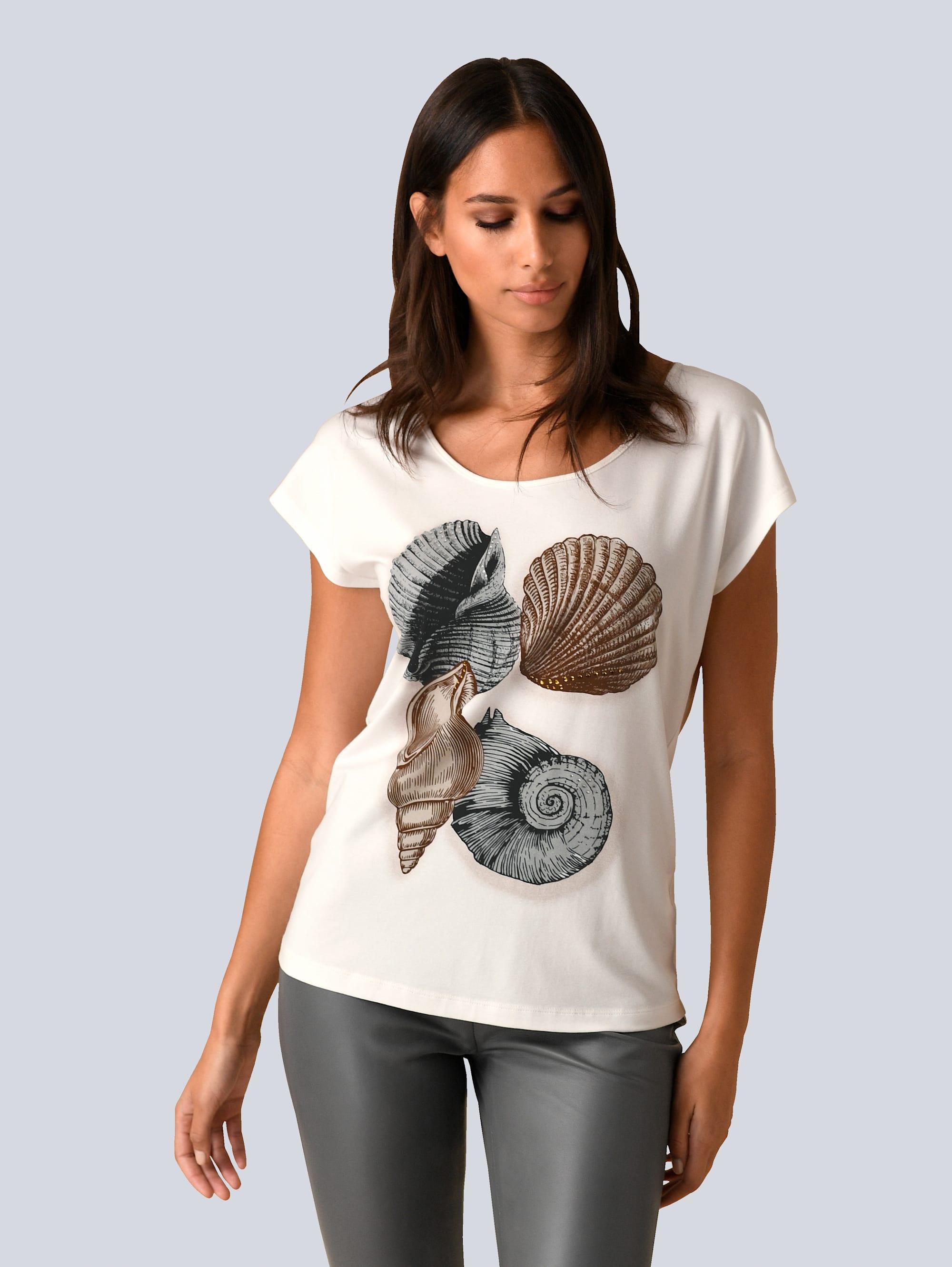 Alba Moda Shirt im sommerlichem Druck FyHak VrPKT
