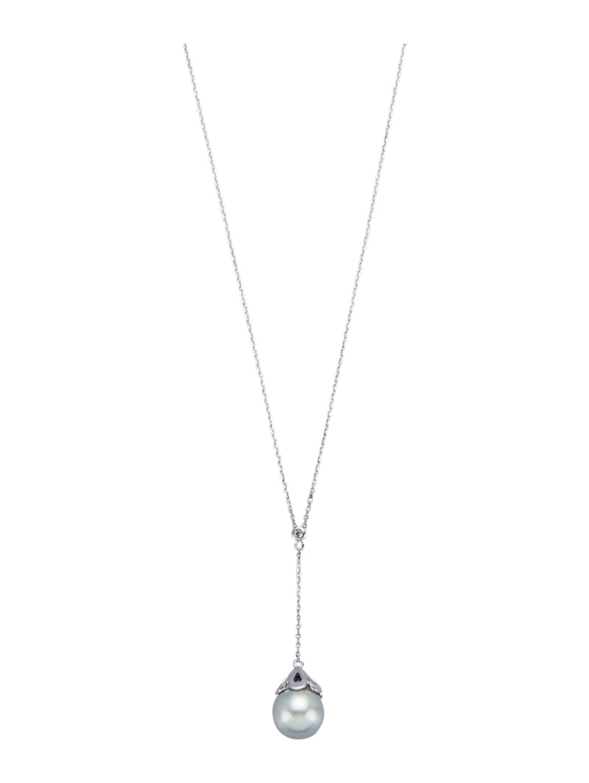 Diemer Perle Collier mit Südsee-Zuchtperle txaNk