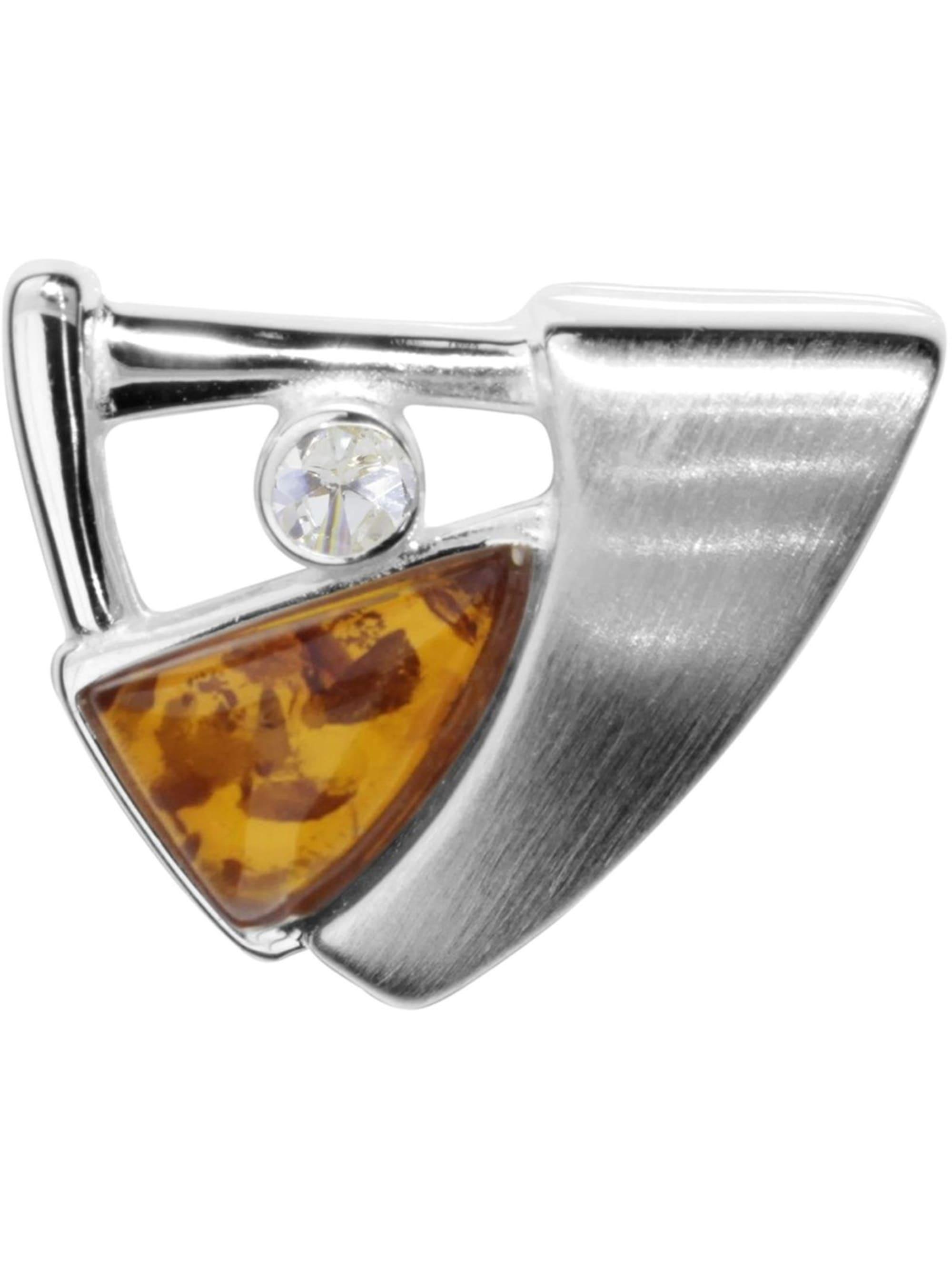 OSTSEE-SCHMUCK Anhänger Gleiter-Sigri Silber 925/000 Bernstein bVMiM