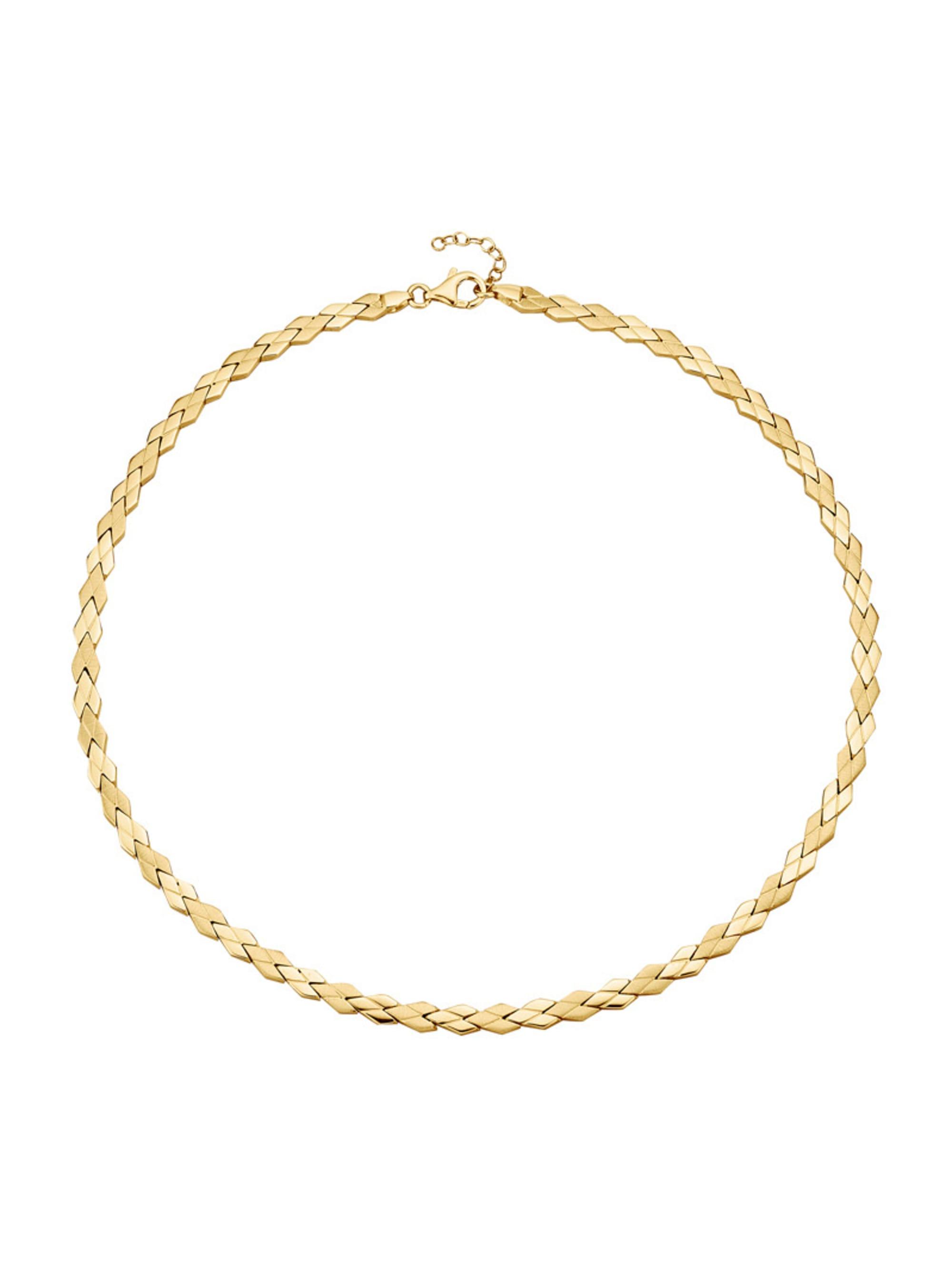 Diemer Silber Collier , vergoldet UVkUN