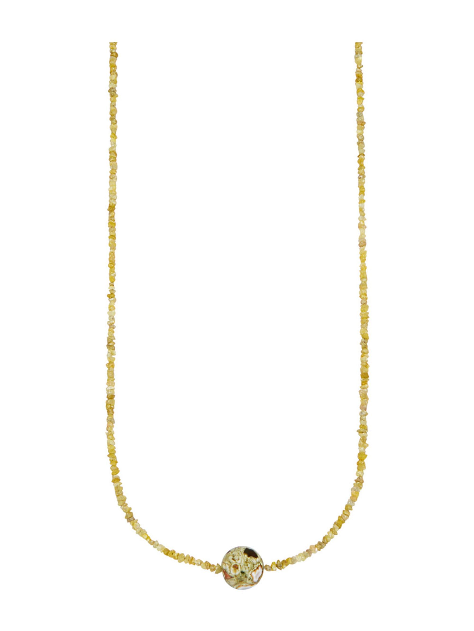 Halskette mit Rohdiamant OusiP