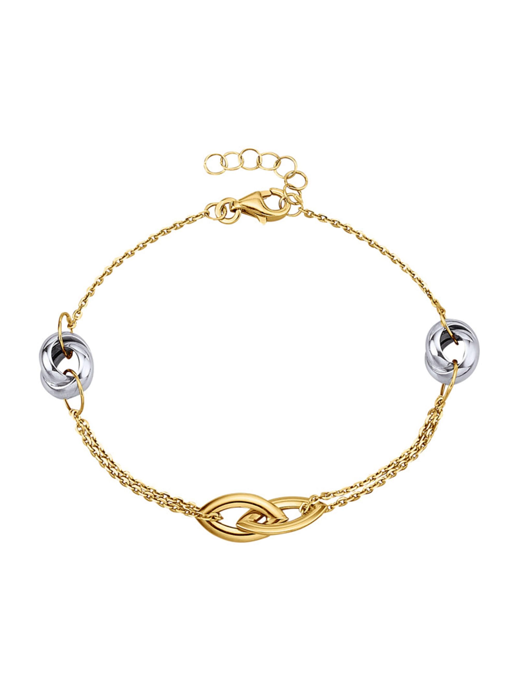 Armband in Gelbgold 375 KuZ4s