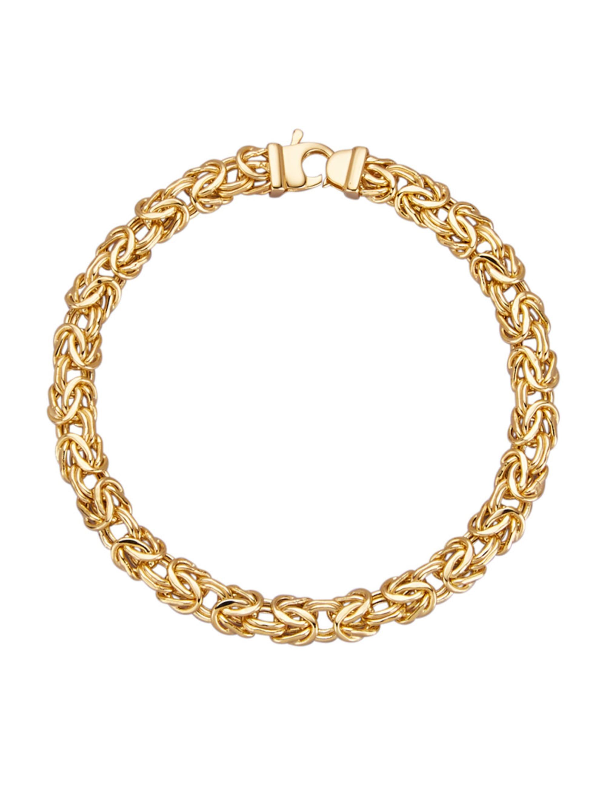 Diemer Gold Königskettenarmband TZ61V