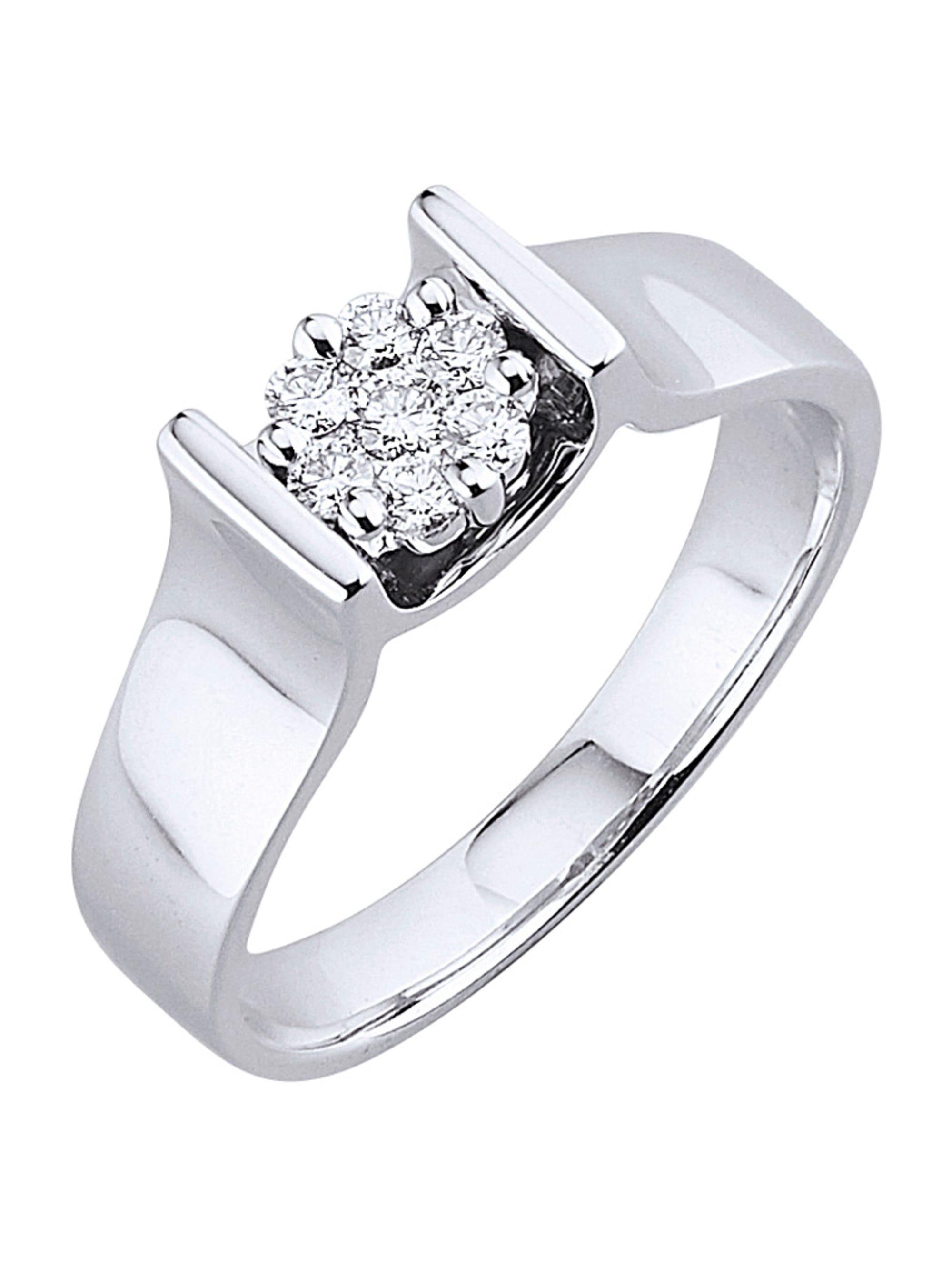 Diemer Diamant Damenring mit Brillanten UmAiL