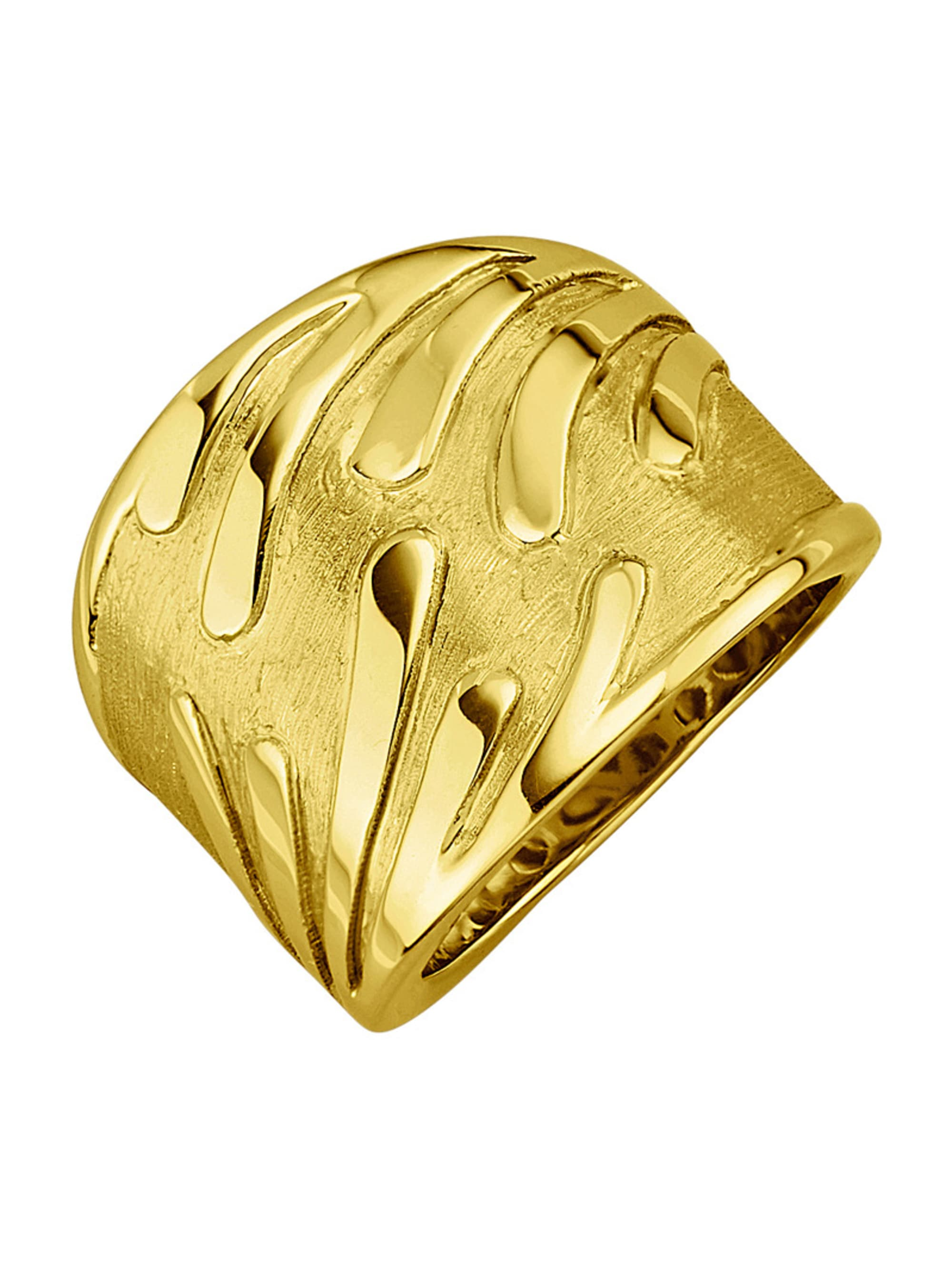 Diemer Gold Damenring in Gelbgold 585 2b1z9