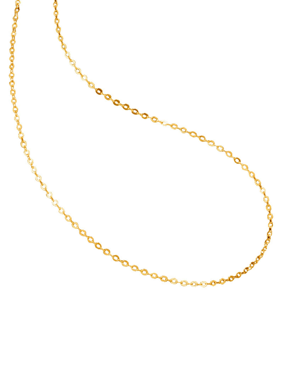 Ankerkette in Gelbgold qwhGd