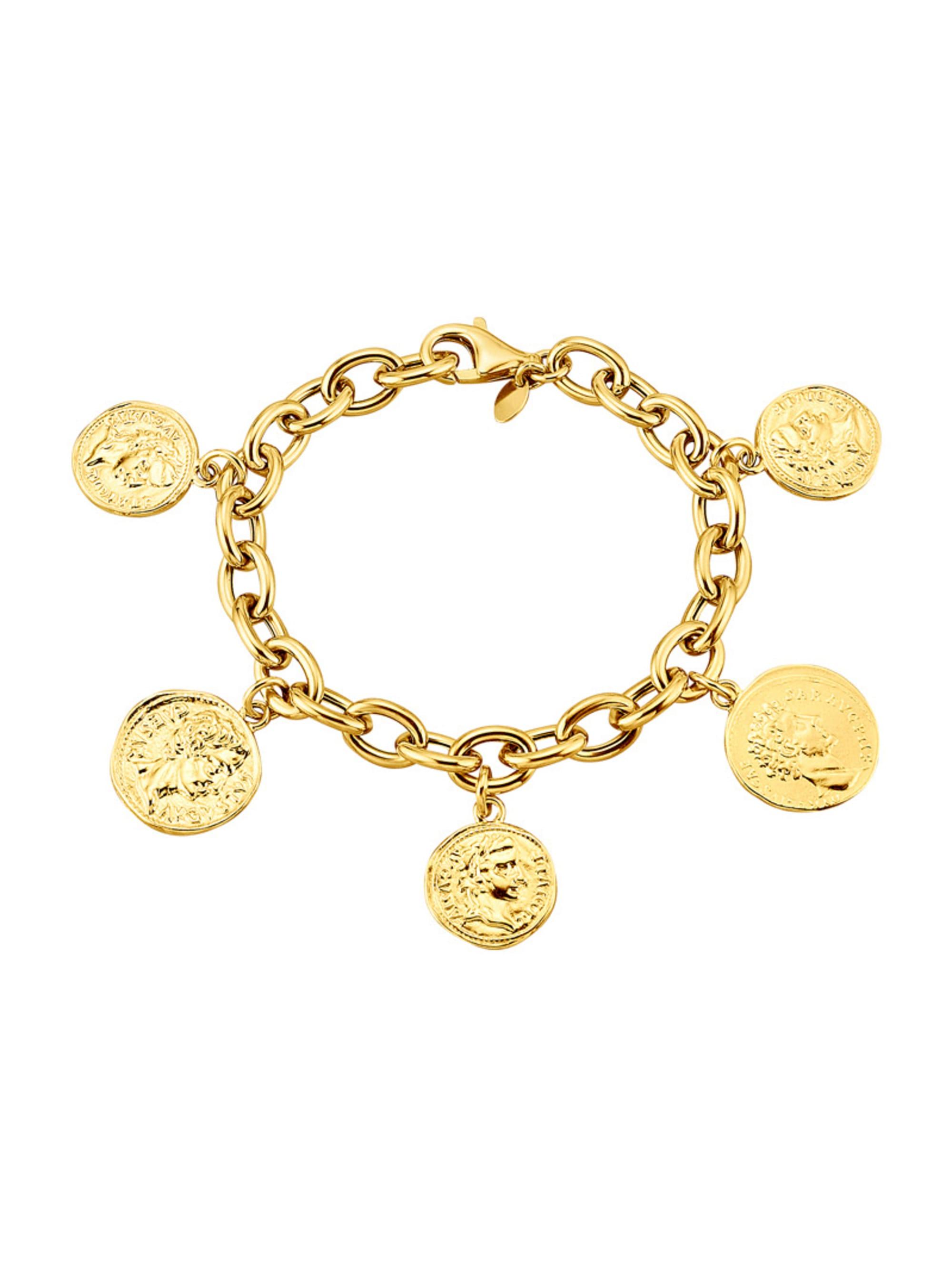 Diemer Silber Münz-Armband `Römische Münzen` mkTjz