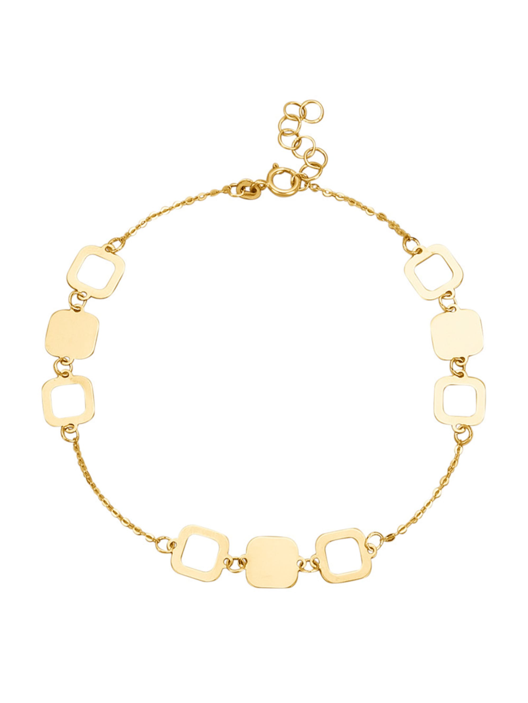 Armband in Gelbgold 333 W3FtN