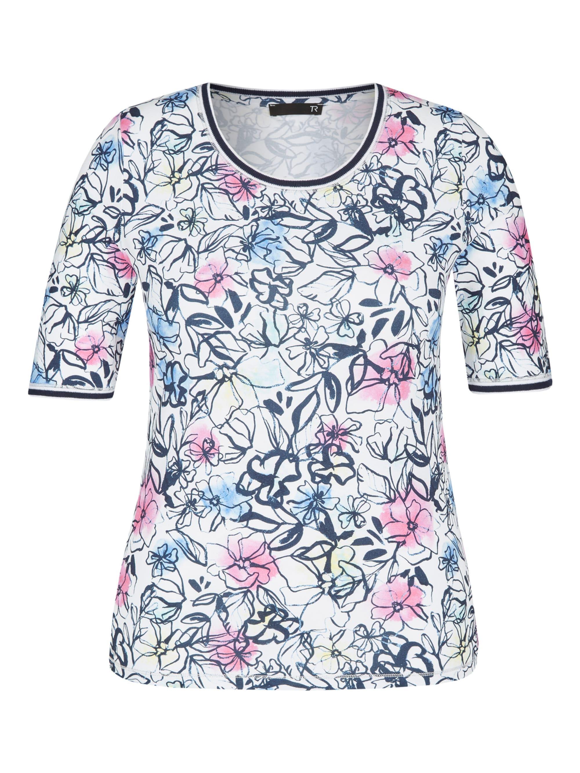 Thomas Rabe Shirt mit Allover-Print und Kontrastverarbeitung yodFj yjT1u
