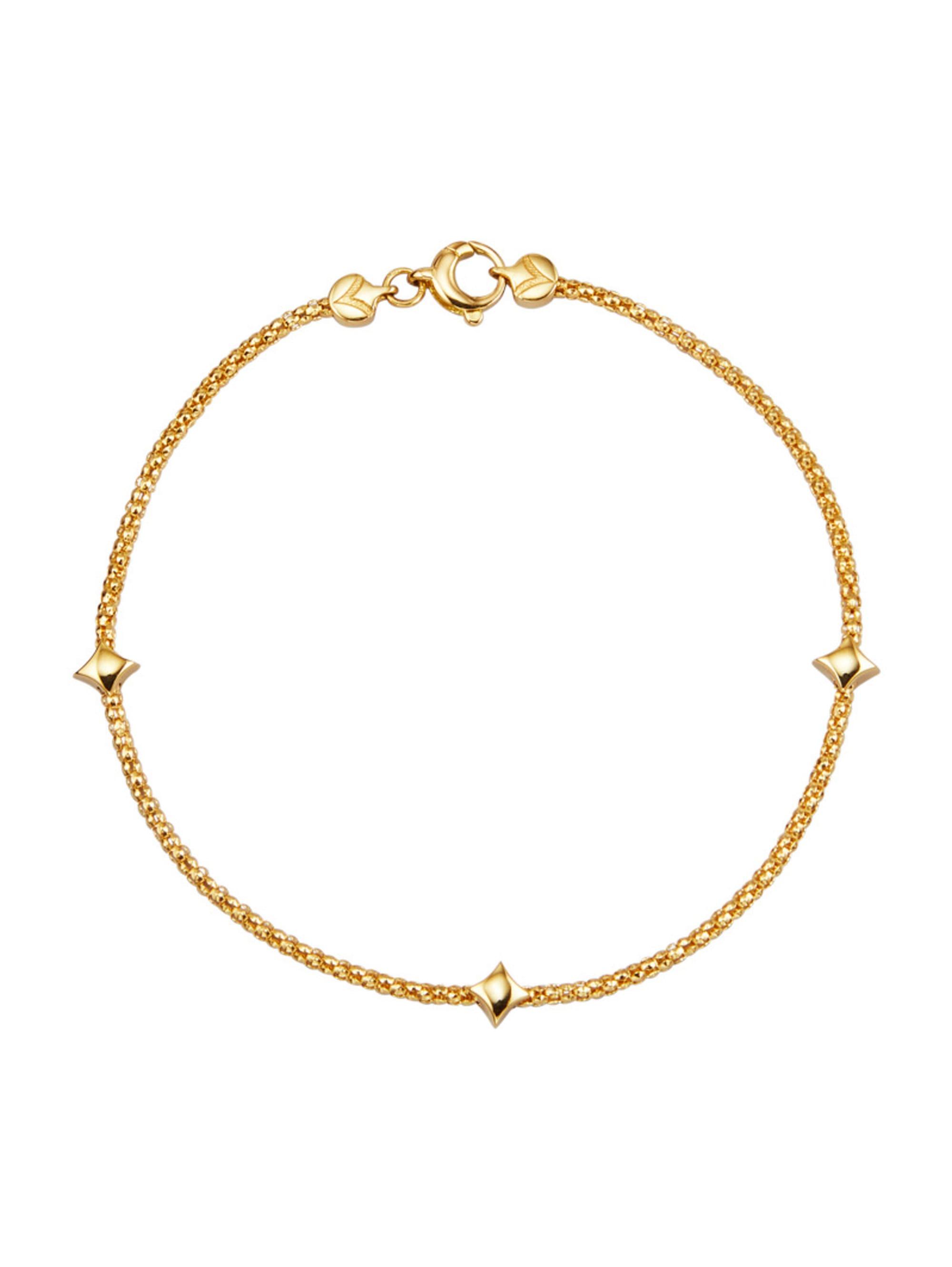 Diemer Gold Armband in Gelbgold 750 unfiE