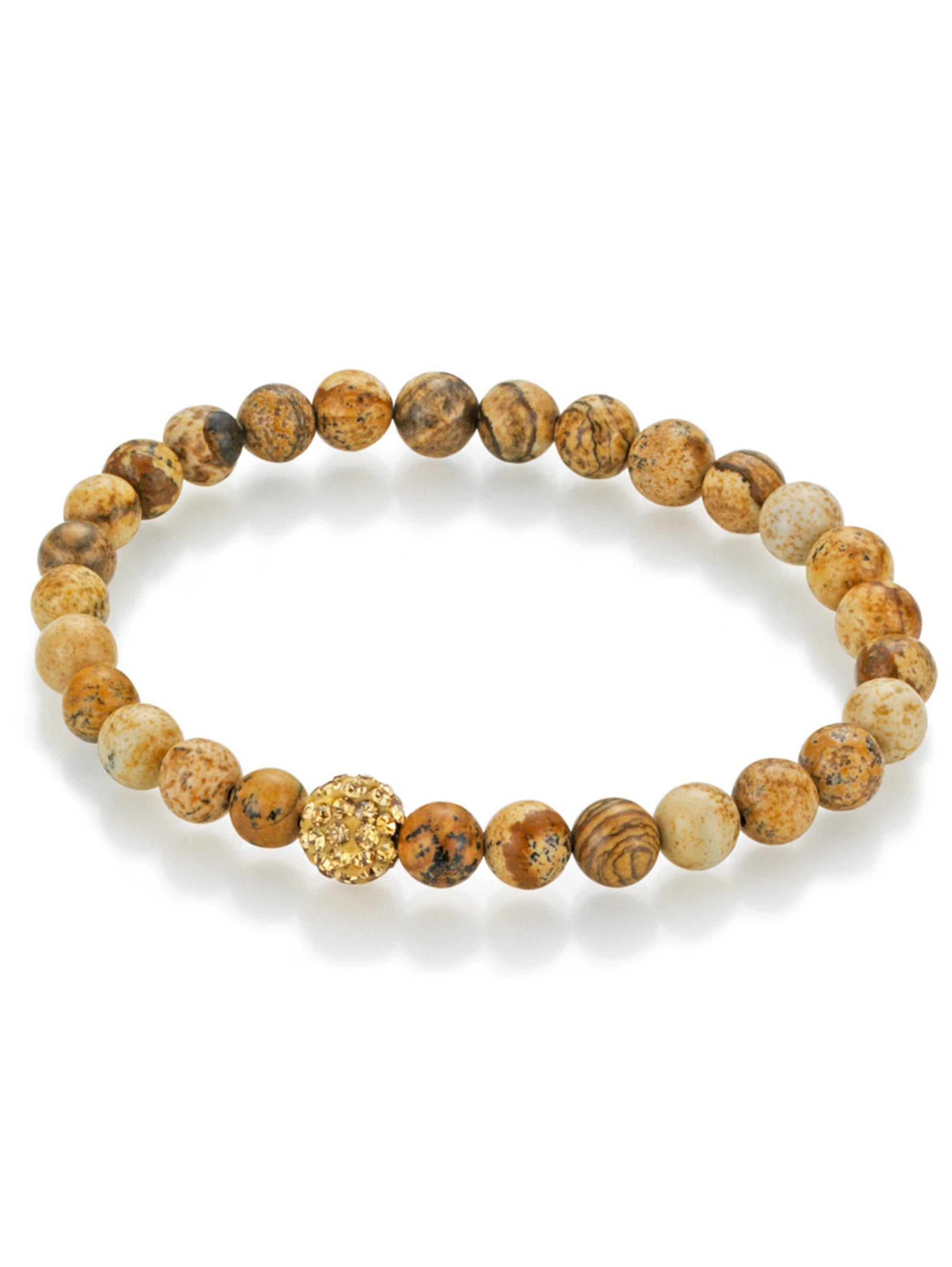 Smart Jewel Jaspis-Armband Smart Jewel 140044612 FgBVu