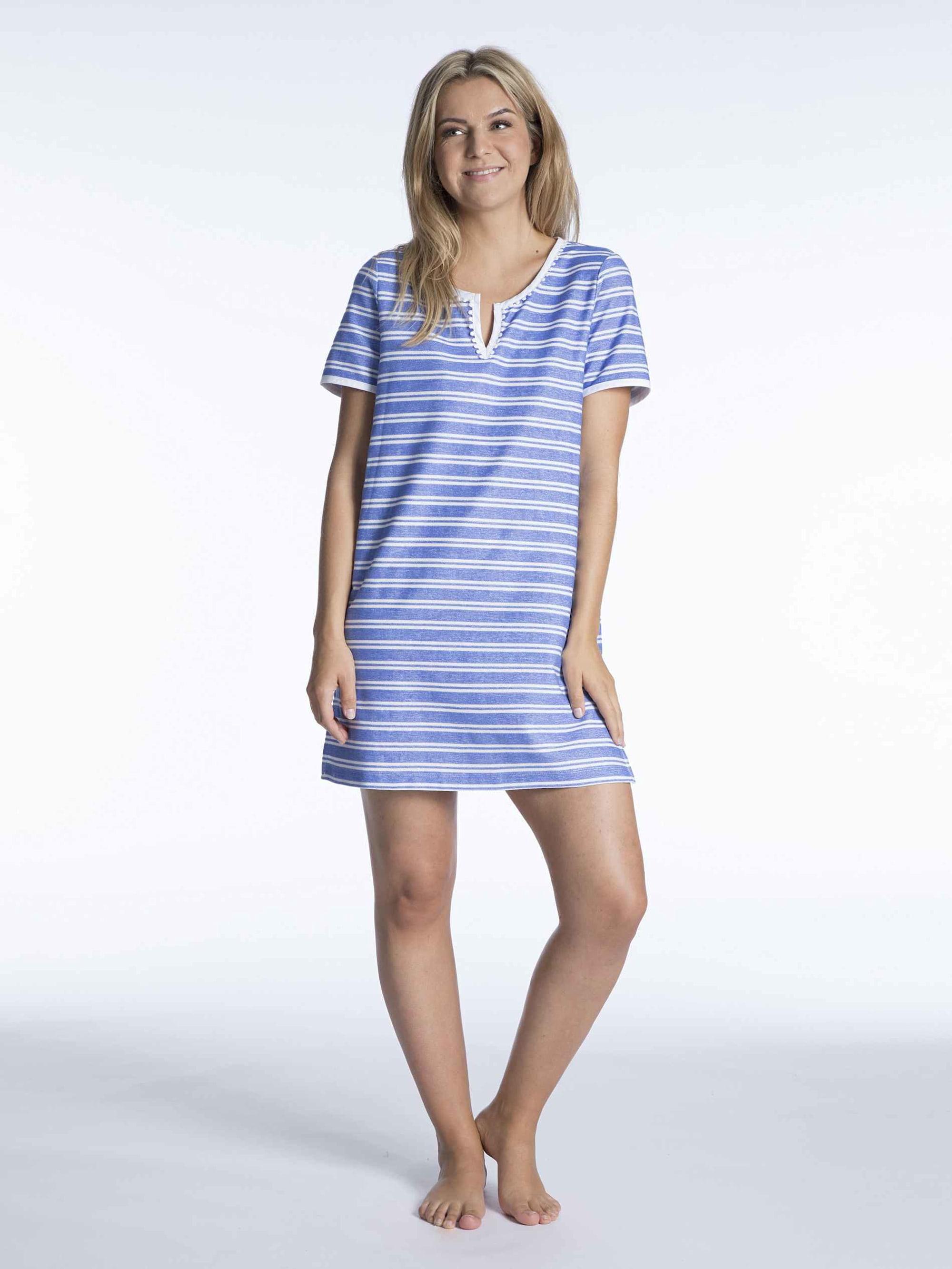 Taubert Strandkleid aus French Terry, Länge 85cm Ökotex zertifziert JopKO y9iZA