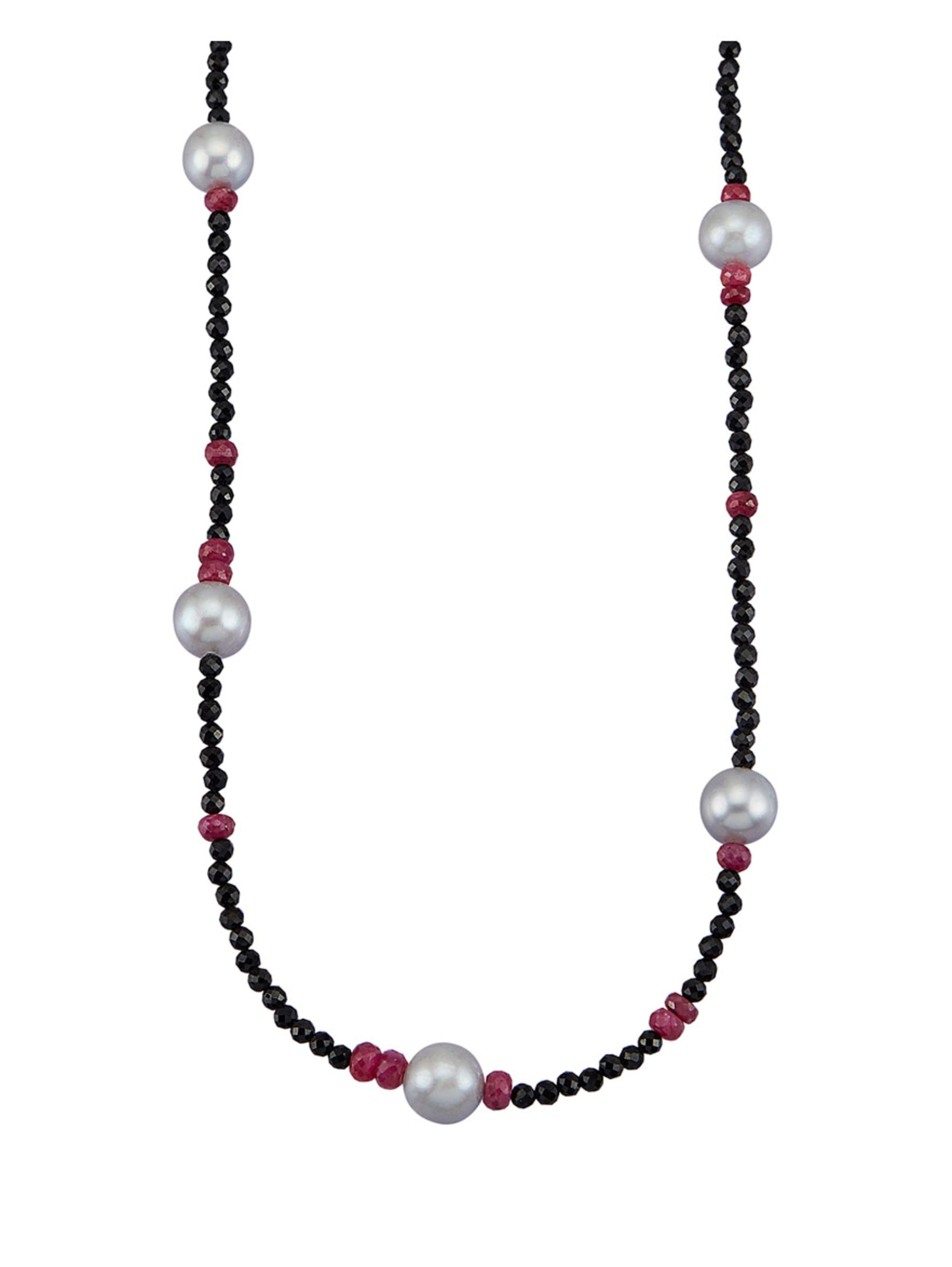 Diemer Farbstein Halskette aus Spinell 2K6cr