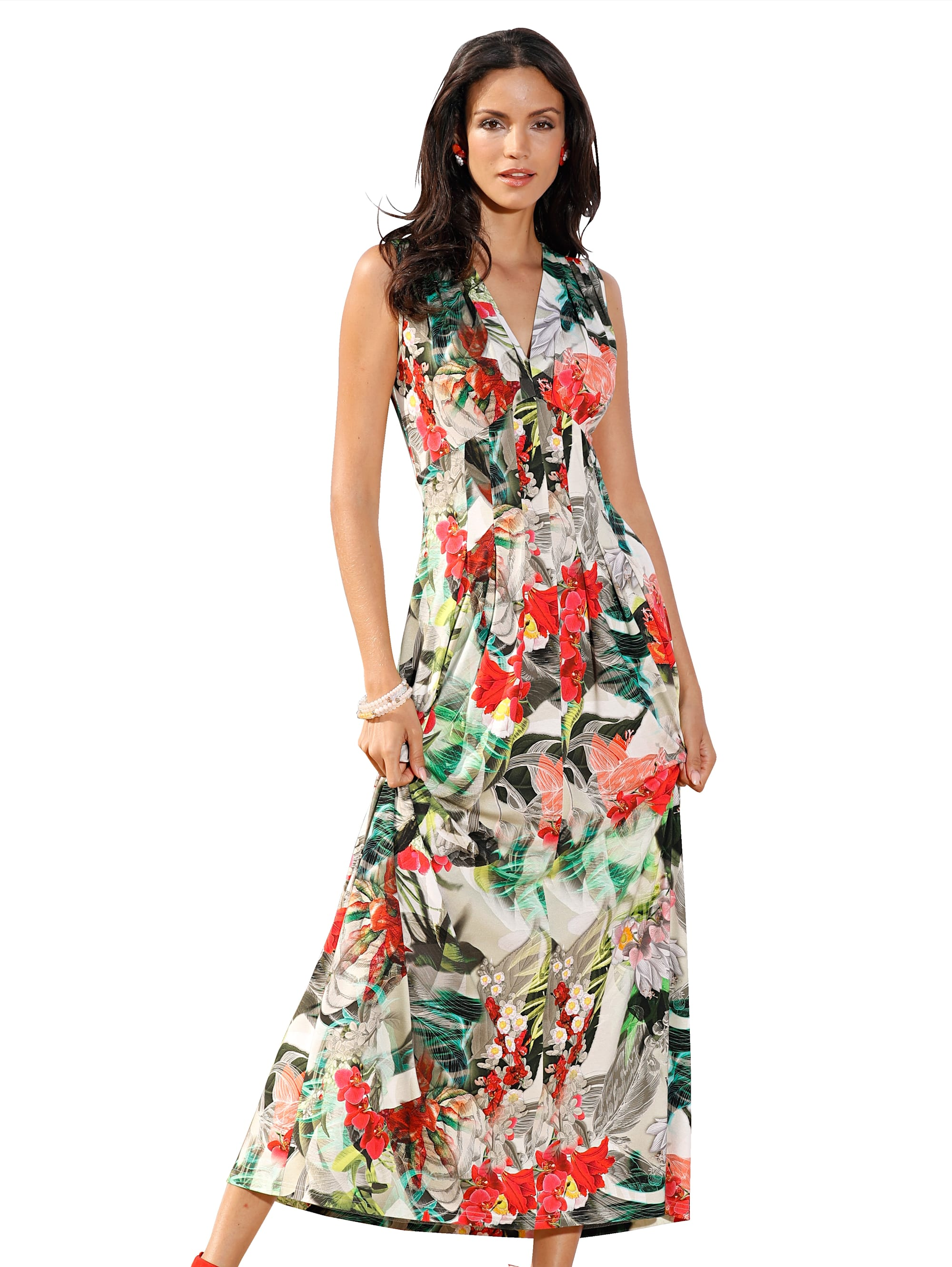 AMY VERMONT Jerseykleid mit floralem Druck PA2y3 9hEAt