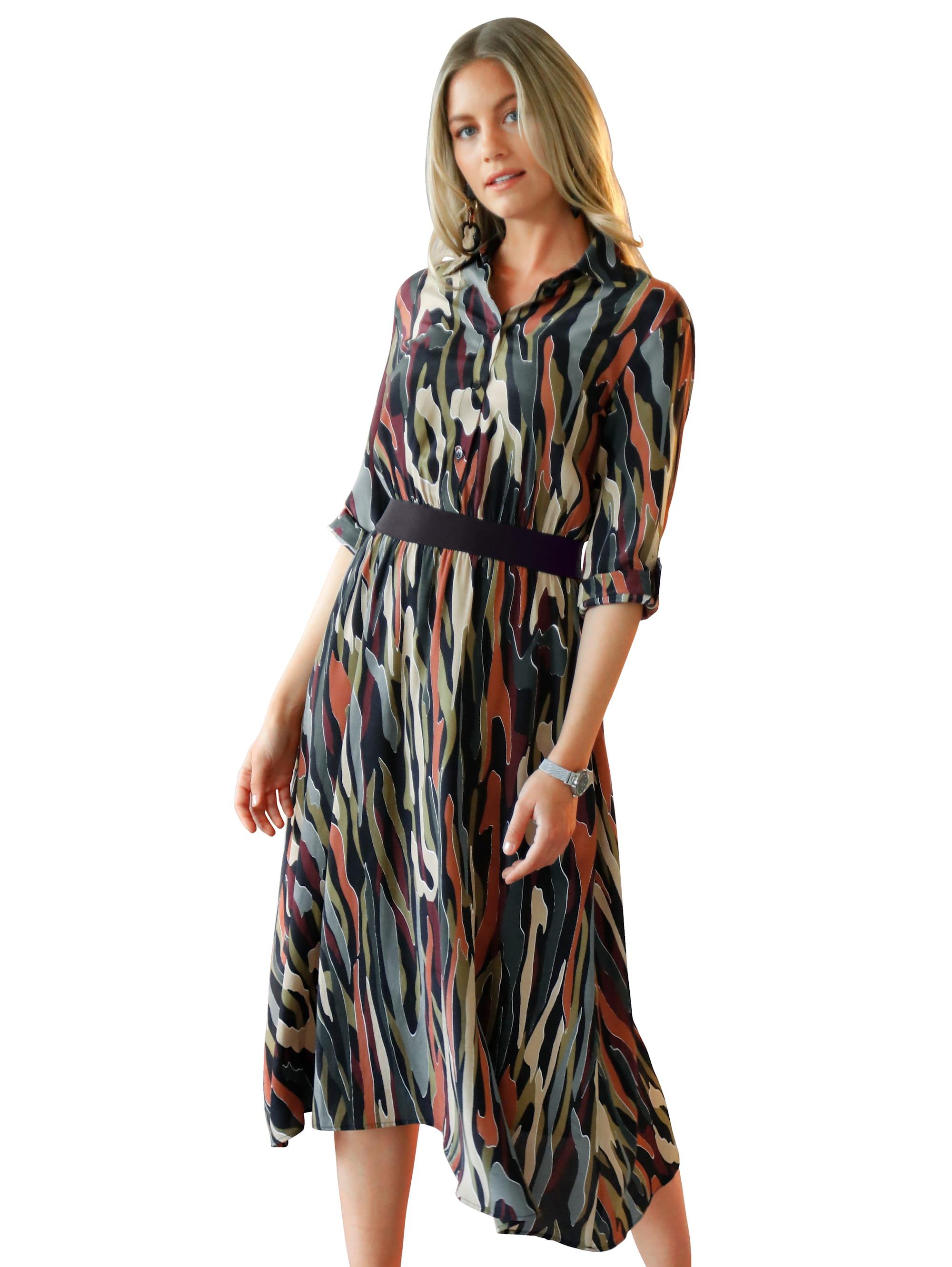 AMY VERMONT Kleid mit Allover-Druck DnmNT Nl3L1