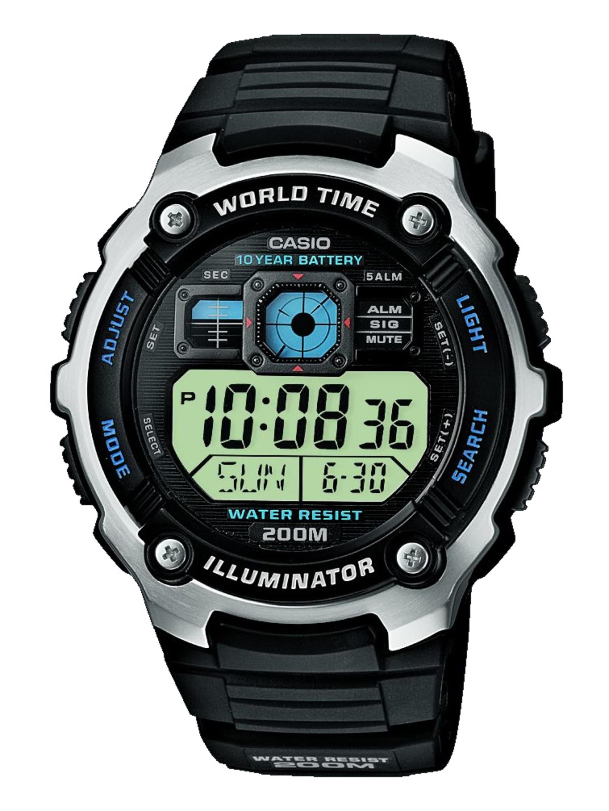 Casio Digitaluhr-Chronograph AE-2000W-1AVEF Ari6T