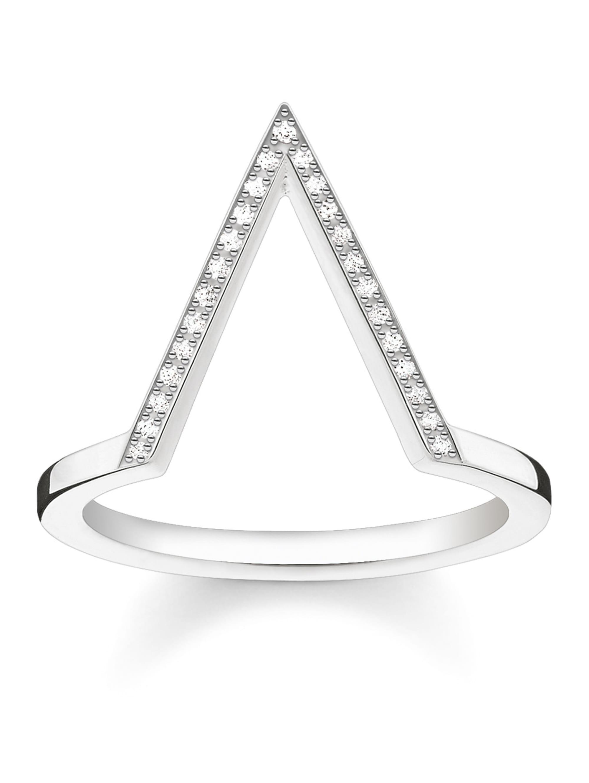 Thomas Sabo Damenring mit Diamanten D_TR0020-725-14 XeJsS