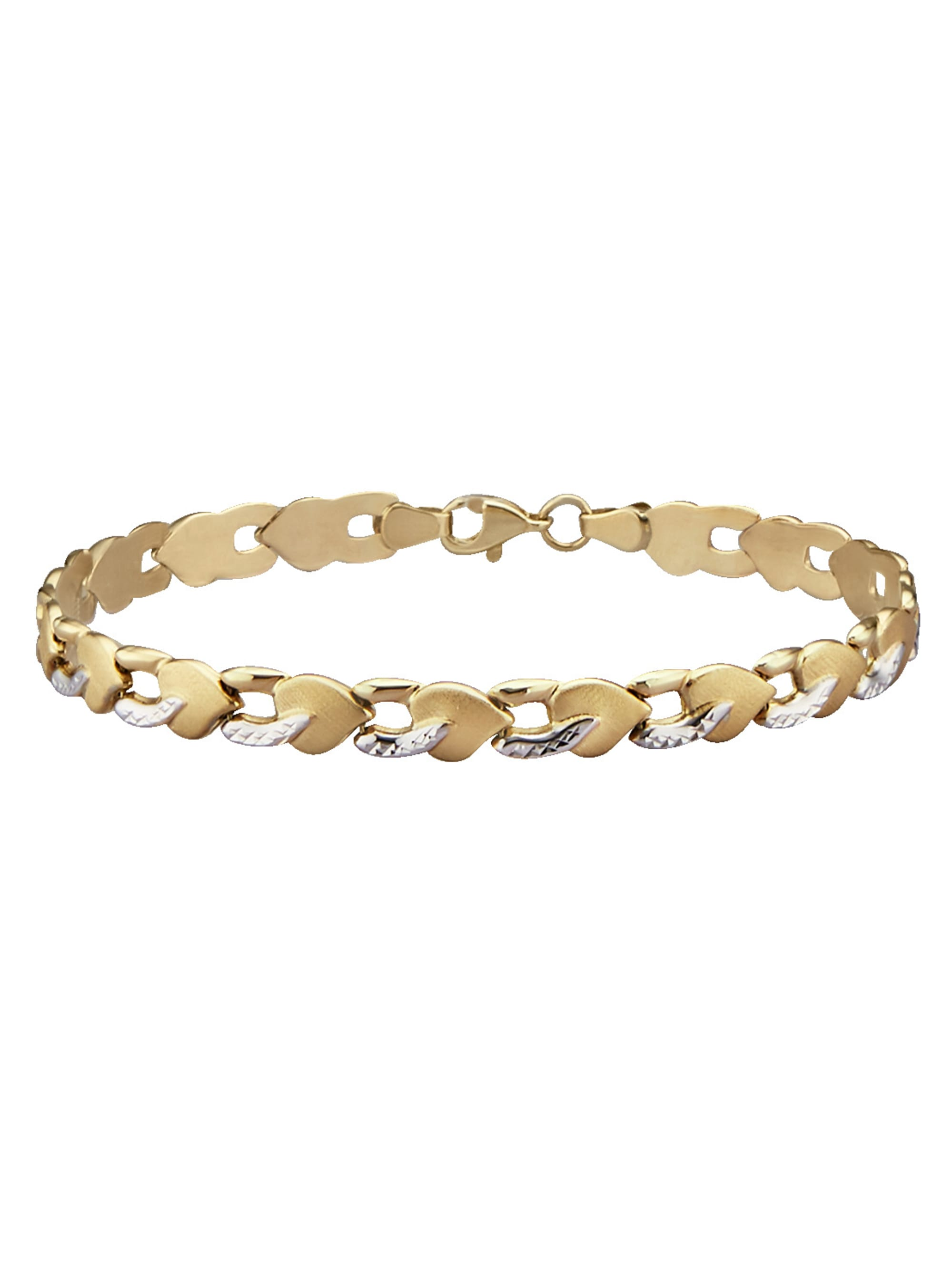 Armband in Gelbgold 375 qzmsY