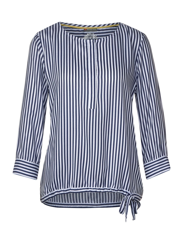 Street One Bluse mit Muster mit verdeckter Knopfleiste uxaPp vw9ht