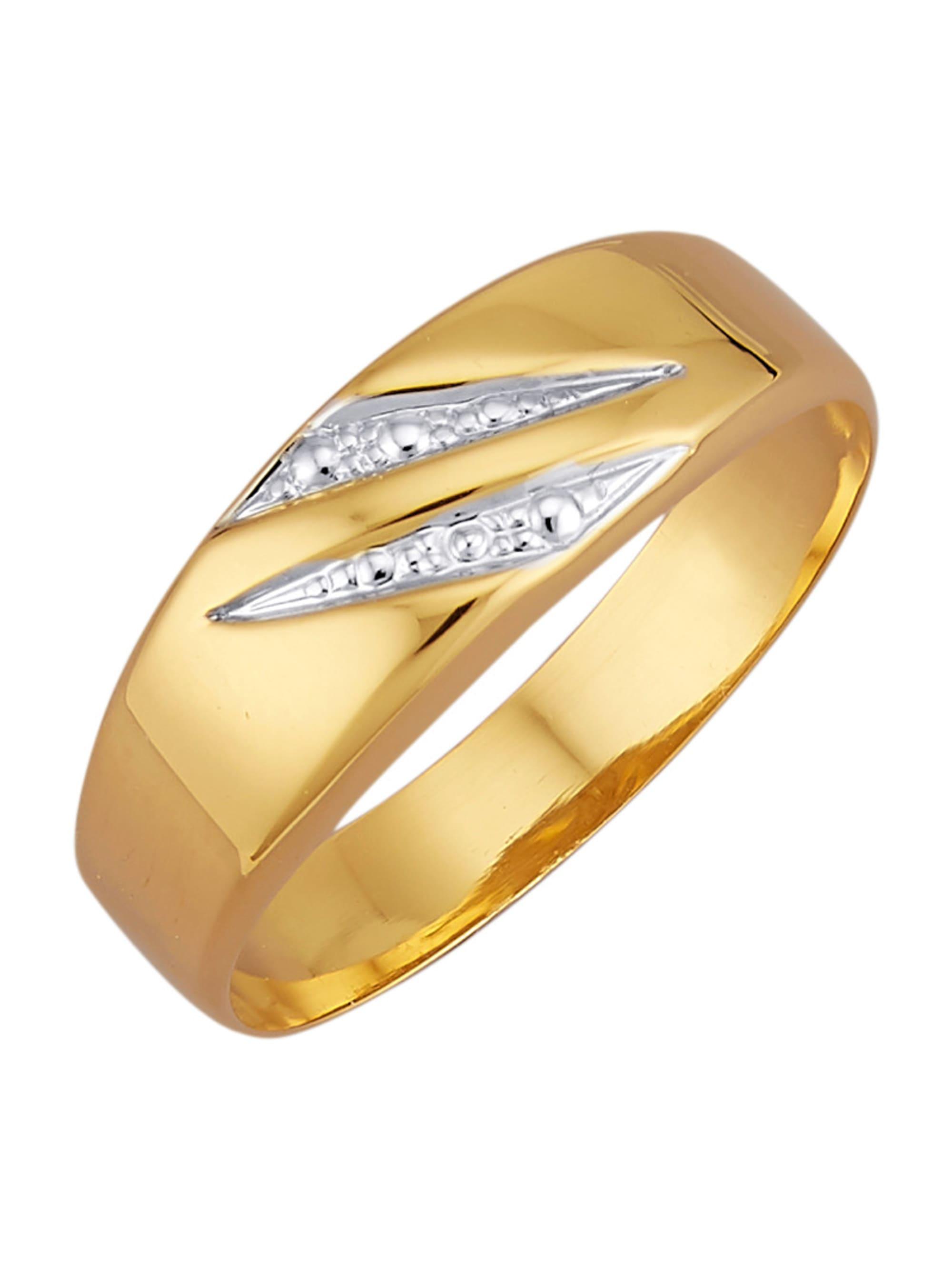 Damenring in Gelbgold 375 85zI7