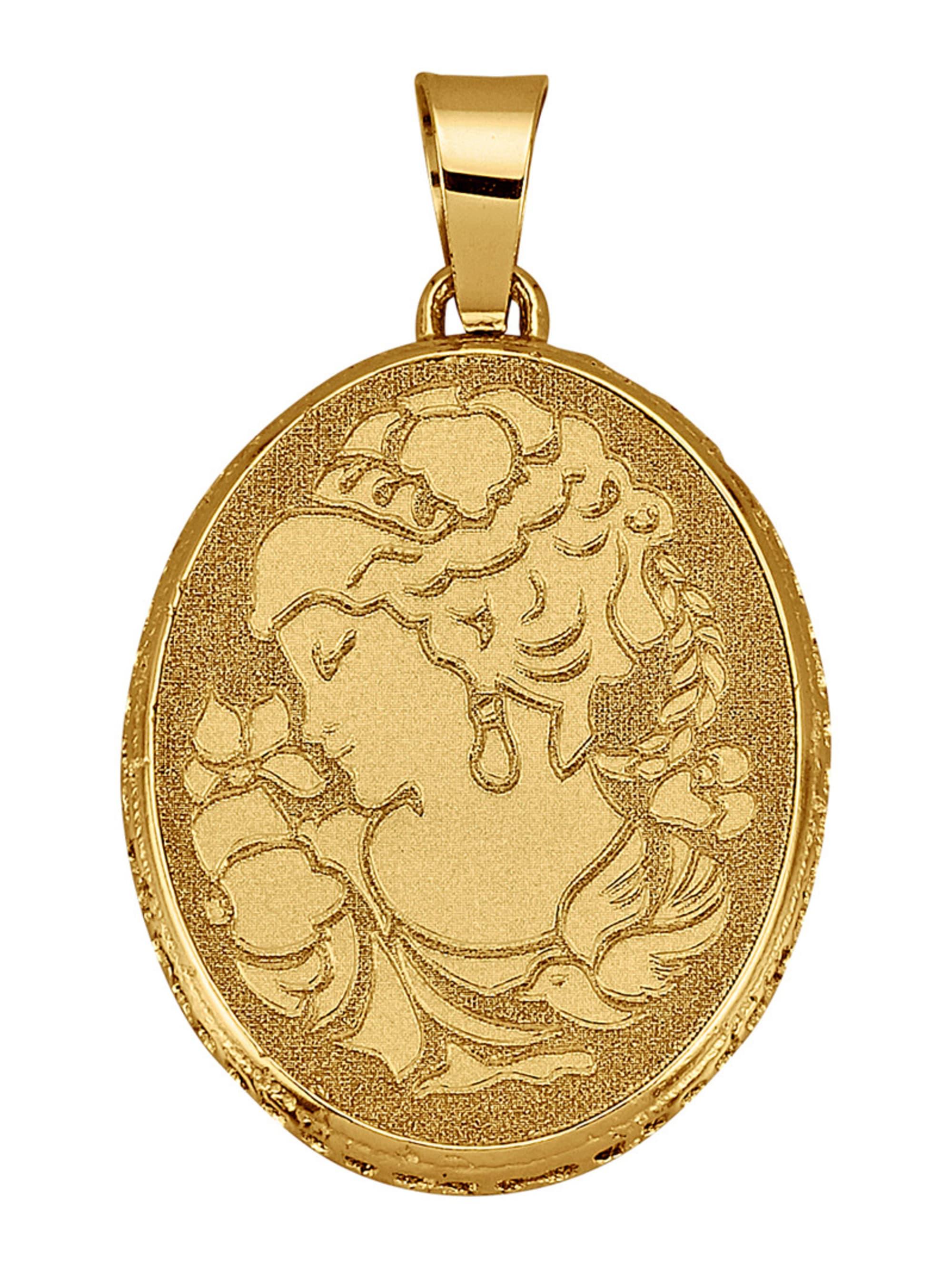 Diemer Gold Anhänger in Gelbgold 585 t8Pew