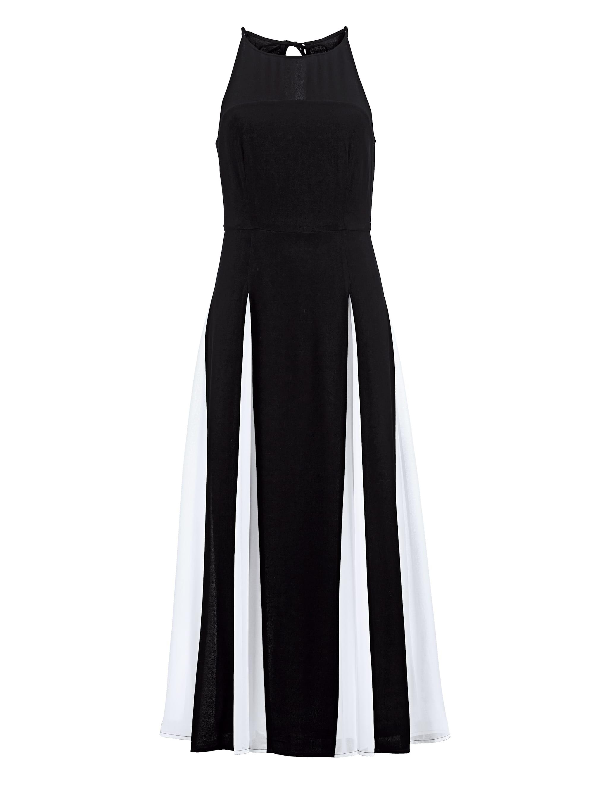 Alba Moda Chiffon-Kleid in Two-Tone-Optik 4wG6J 65pVO