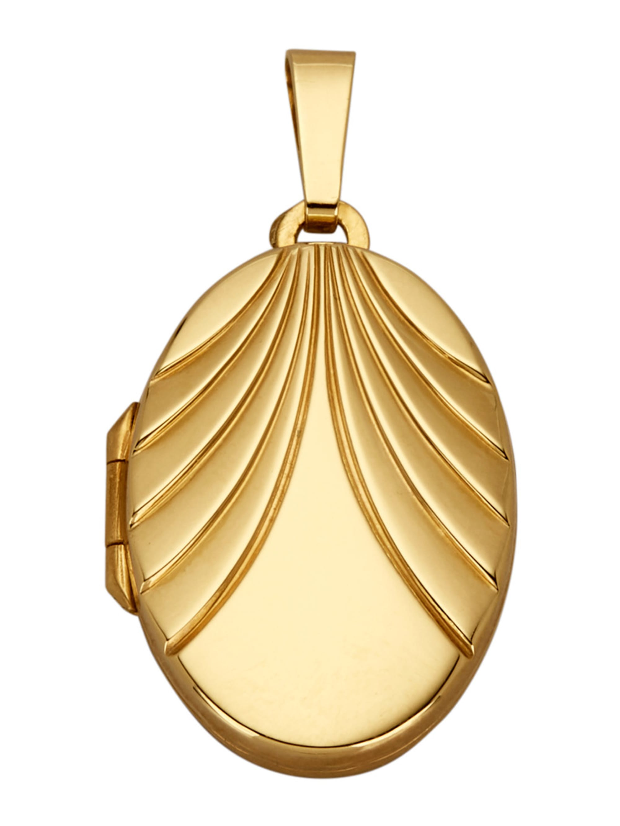 Diemer Gold Medaillon-Anhänger qXwqj