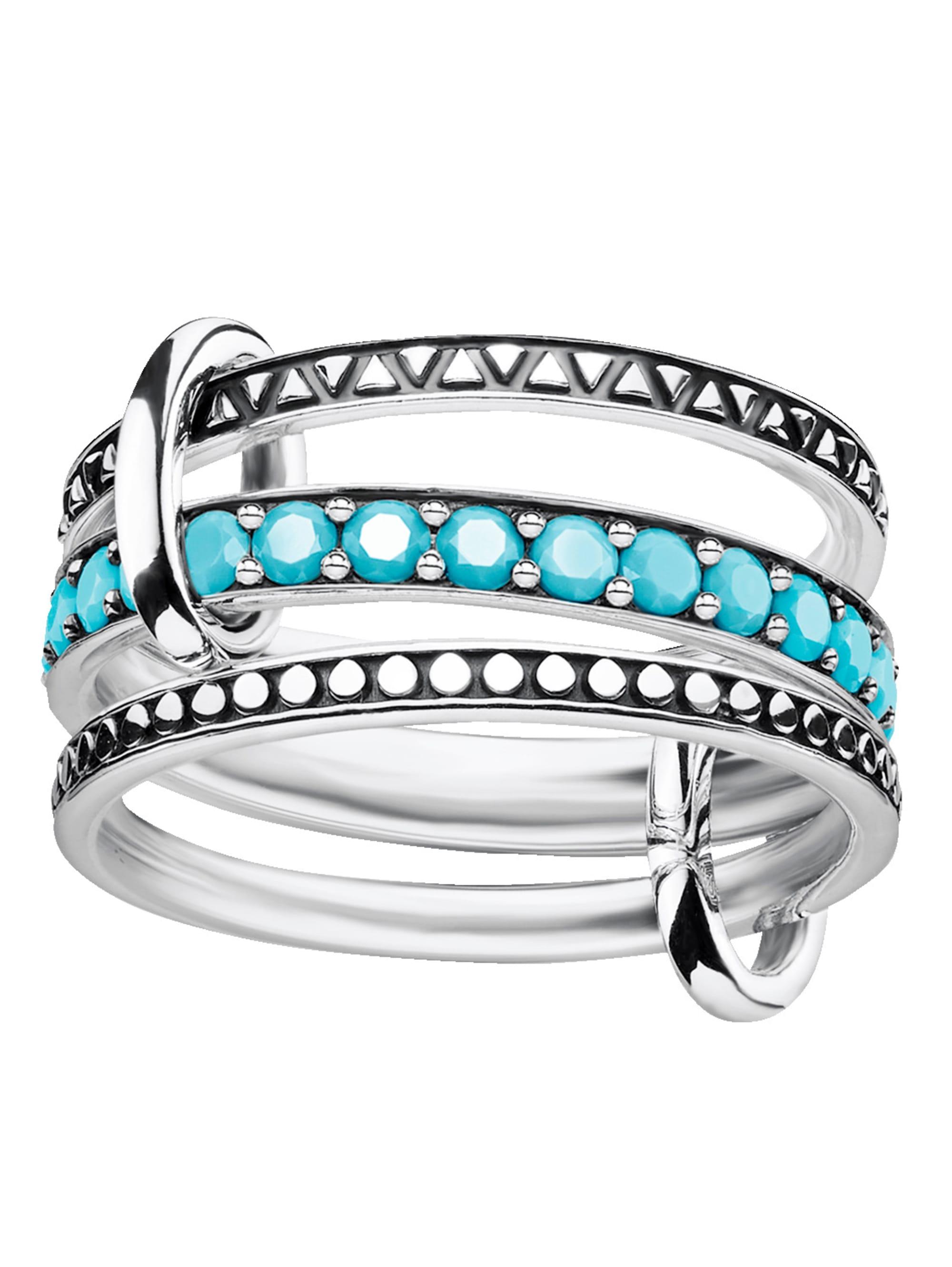 Thomas Sabo Triple Ring in Silber 925 TRIPLE RING TR2195-667-17 Z6Ii0