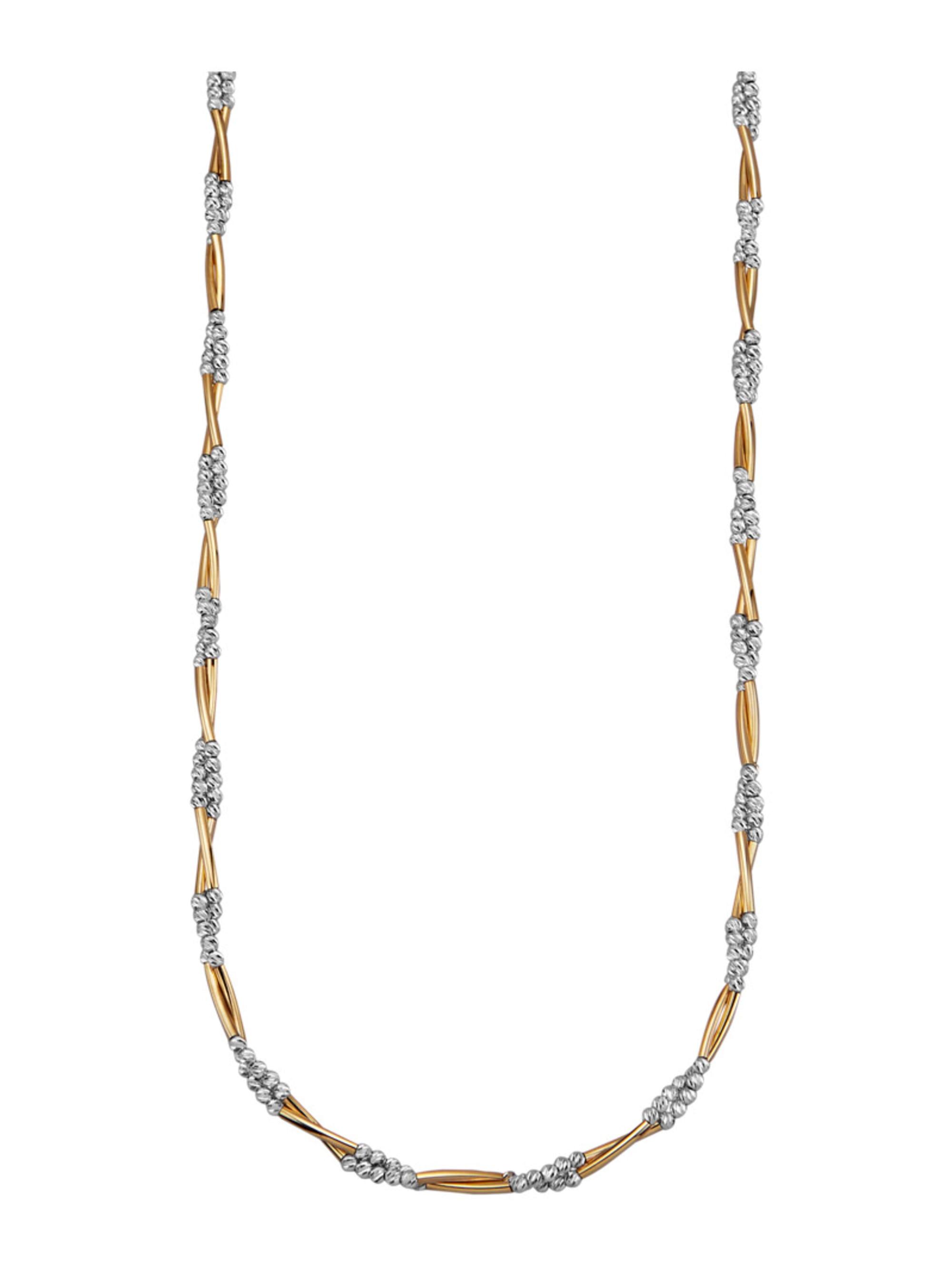 Diemer Gold Halskette in Gelbgold 585 TJkAr