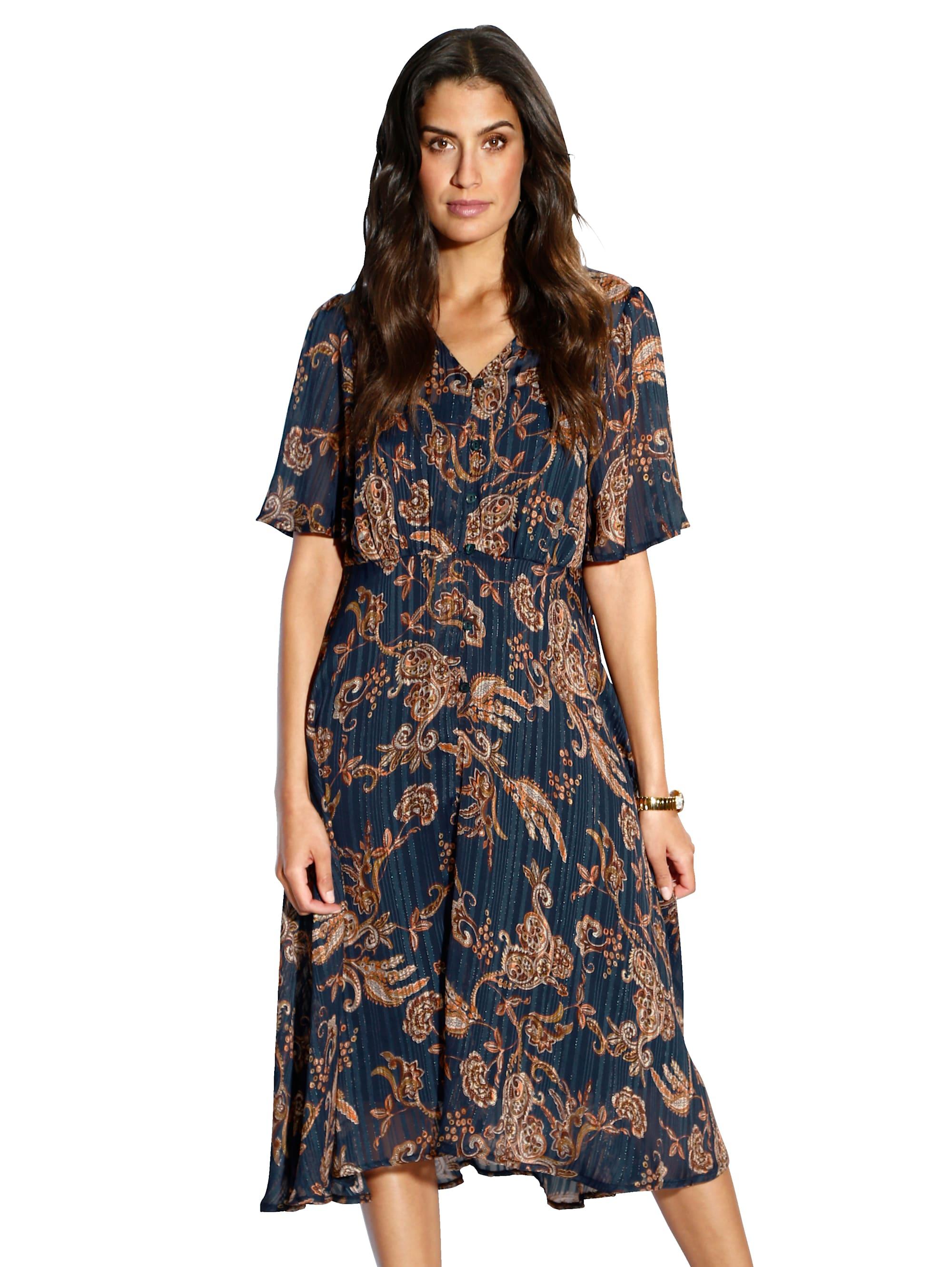 AMY VERMONT Kleid mit Paisley-Muster PEh4X TzQx5