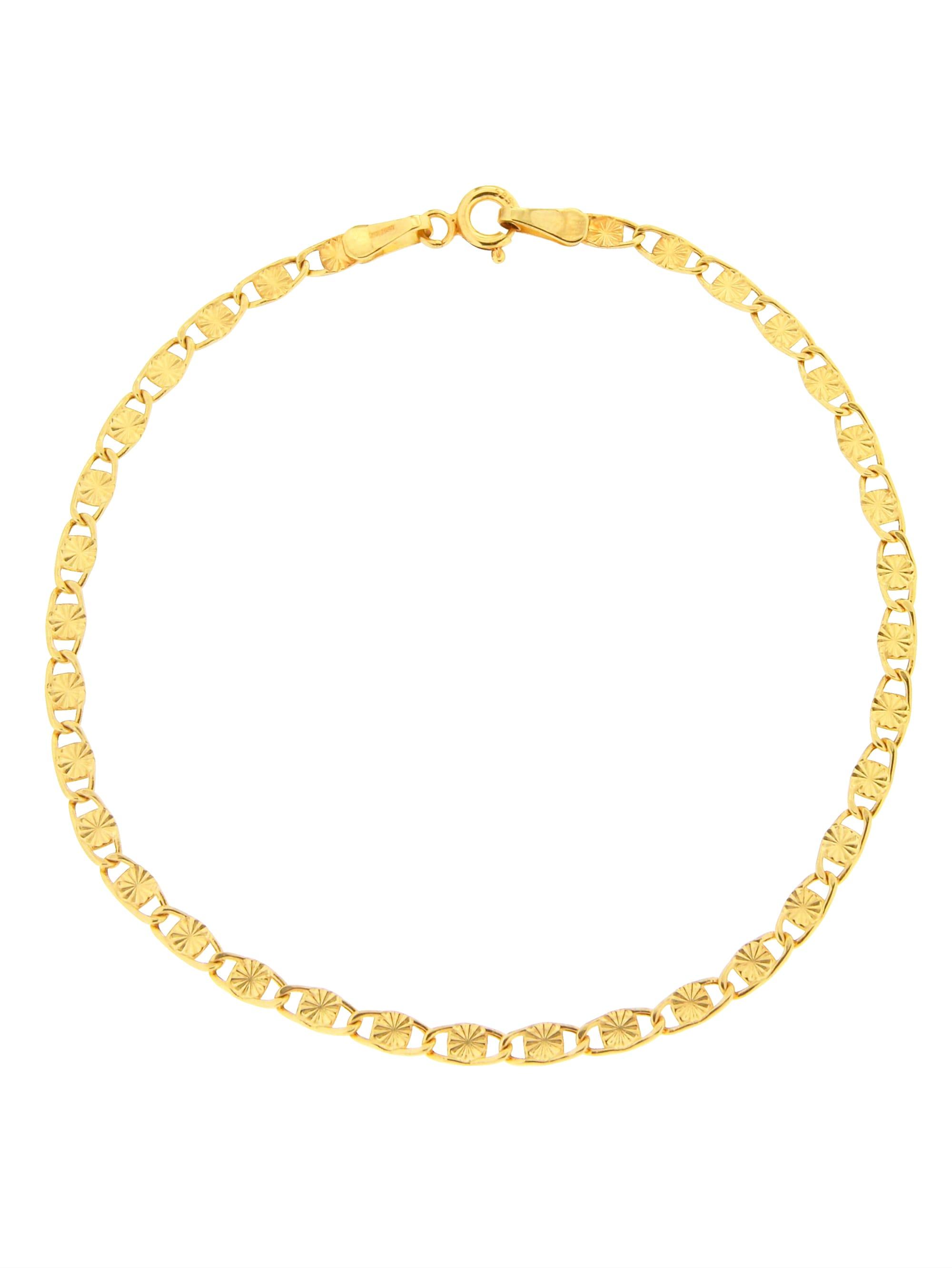 Grazielli Armband in Gelbgold 375 4gqsM