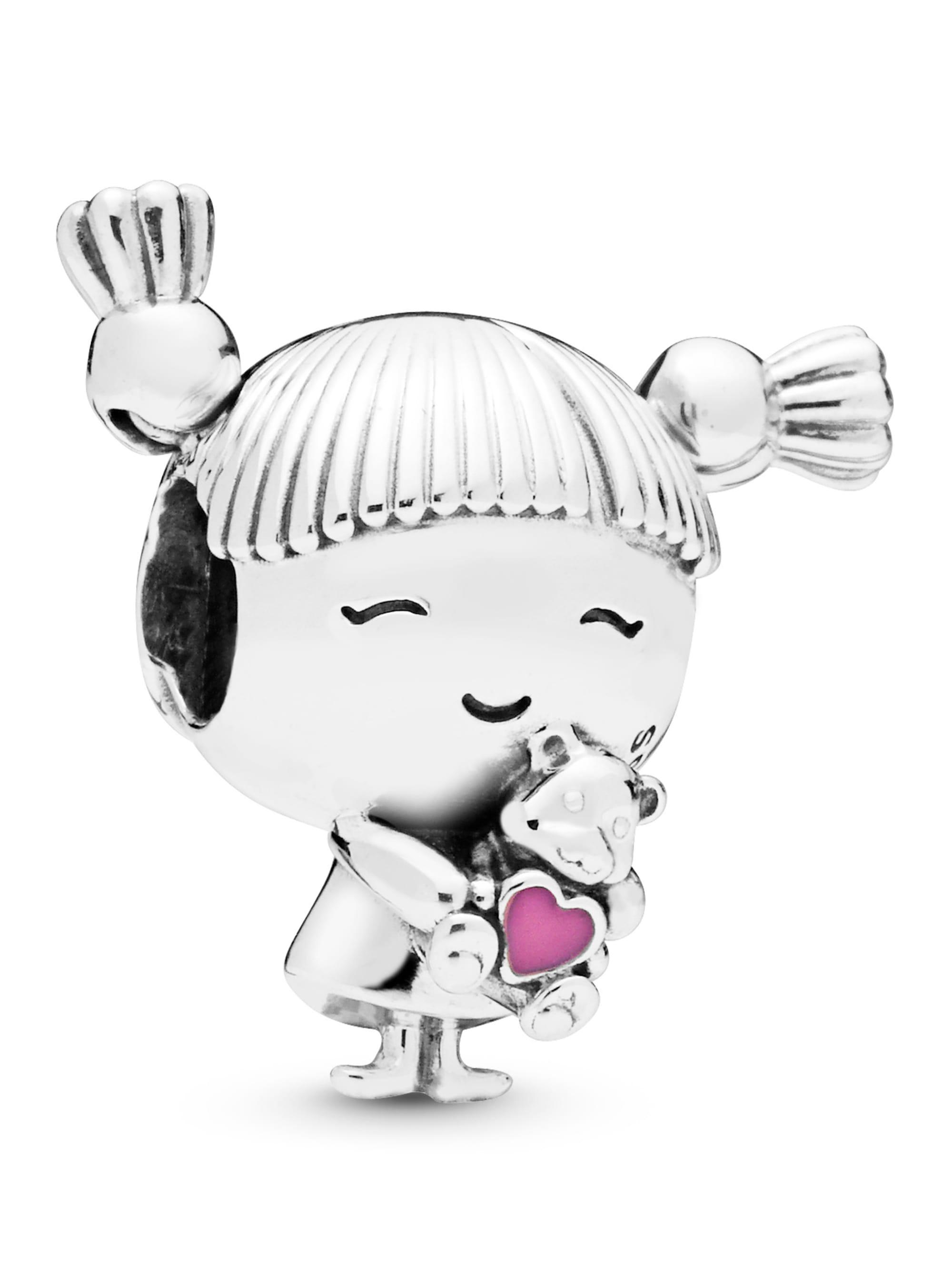 Pandora Charm -Mädchen mit Zöpfen- 798016EN160 h0AYN