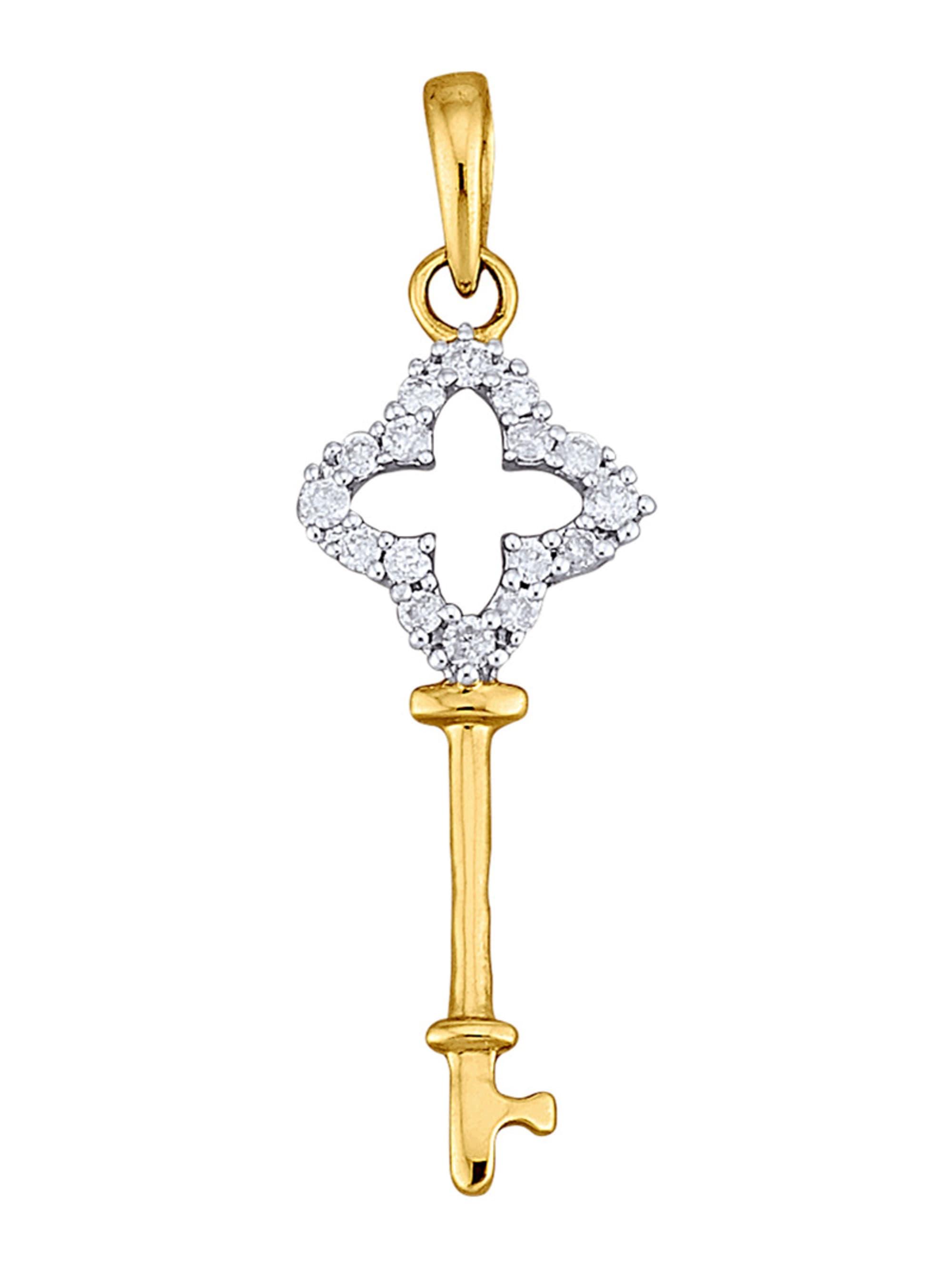 AMY VERMONT Schlüssel-Anhänger mit Diamanten NQseG