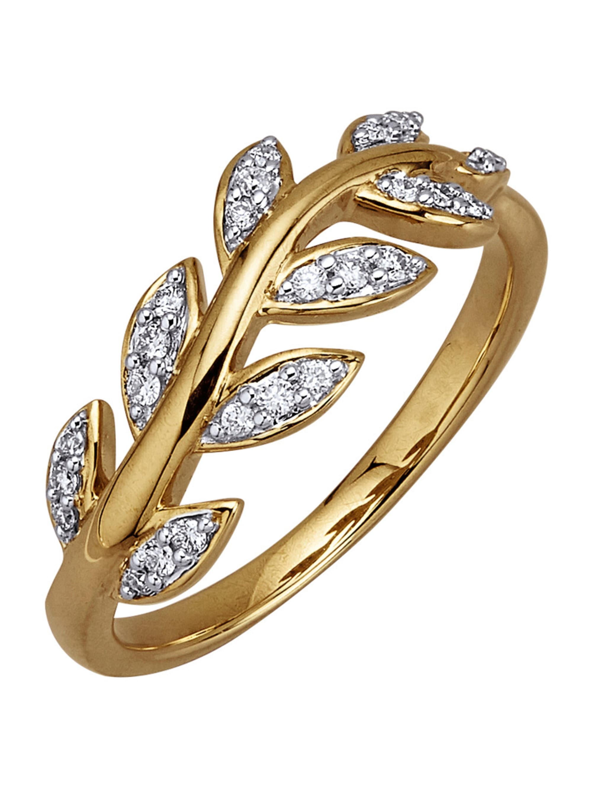 AMY VERMONT Damenring mit Diamanten yI3k7