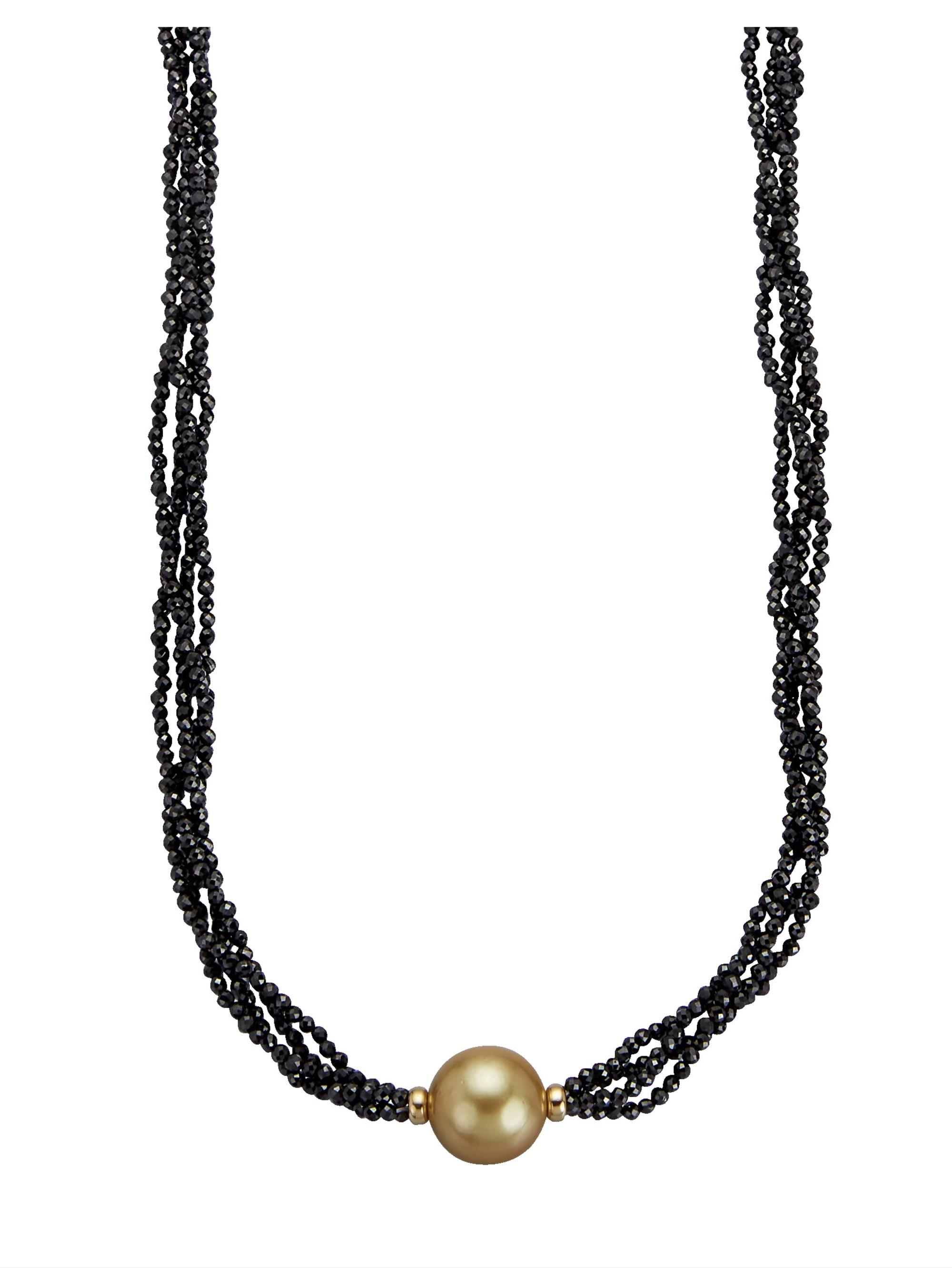 Diemer Perle 4rhg. Collier mit Südsee-Zuchtperle LJ3WT