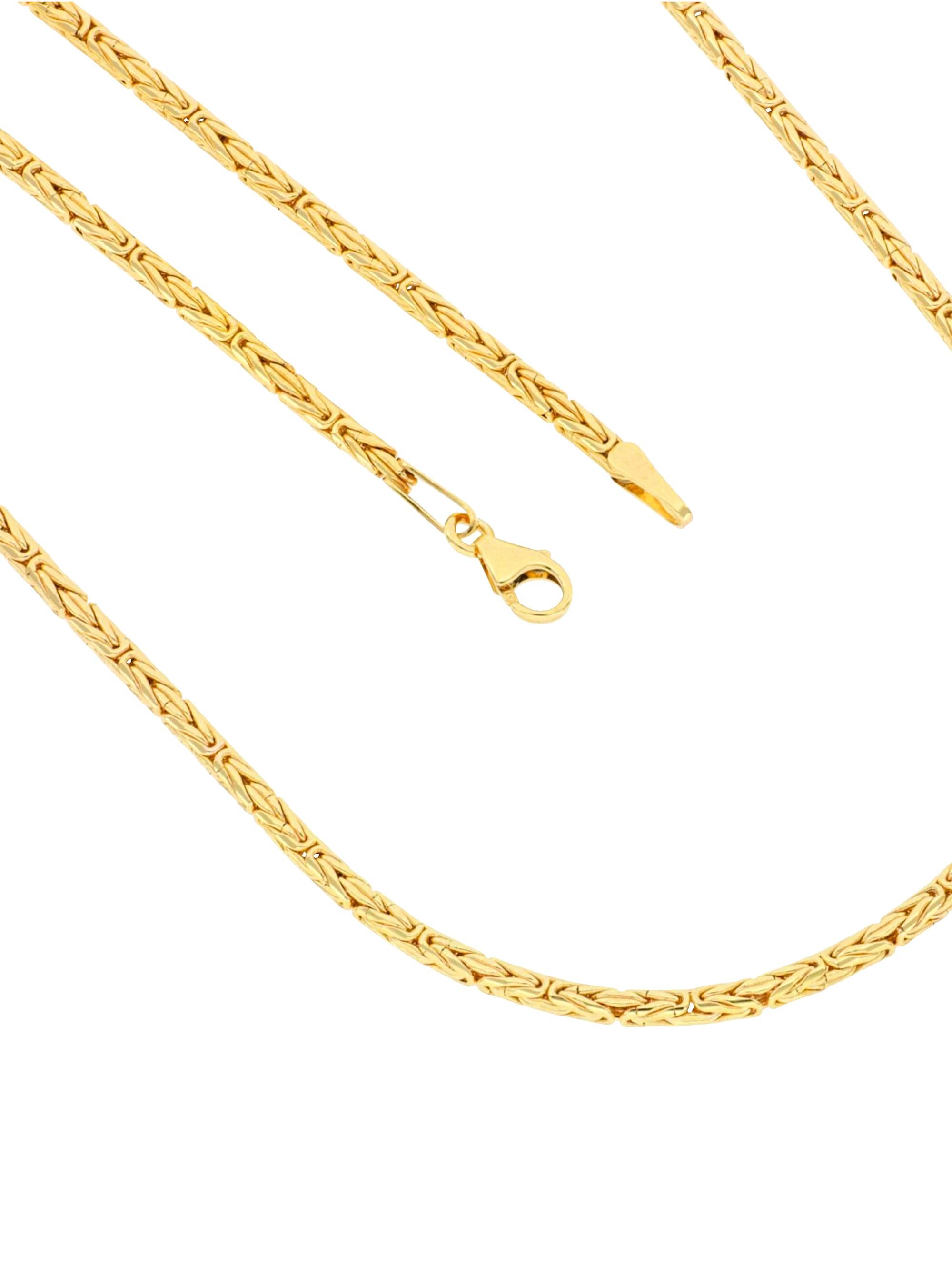 Grazielli Königskette in Gelbgold 375 d2rAR