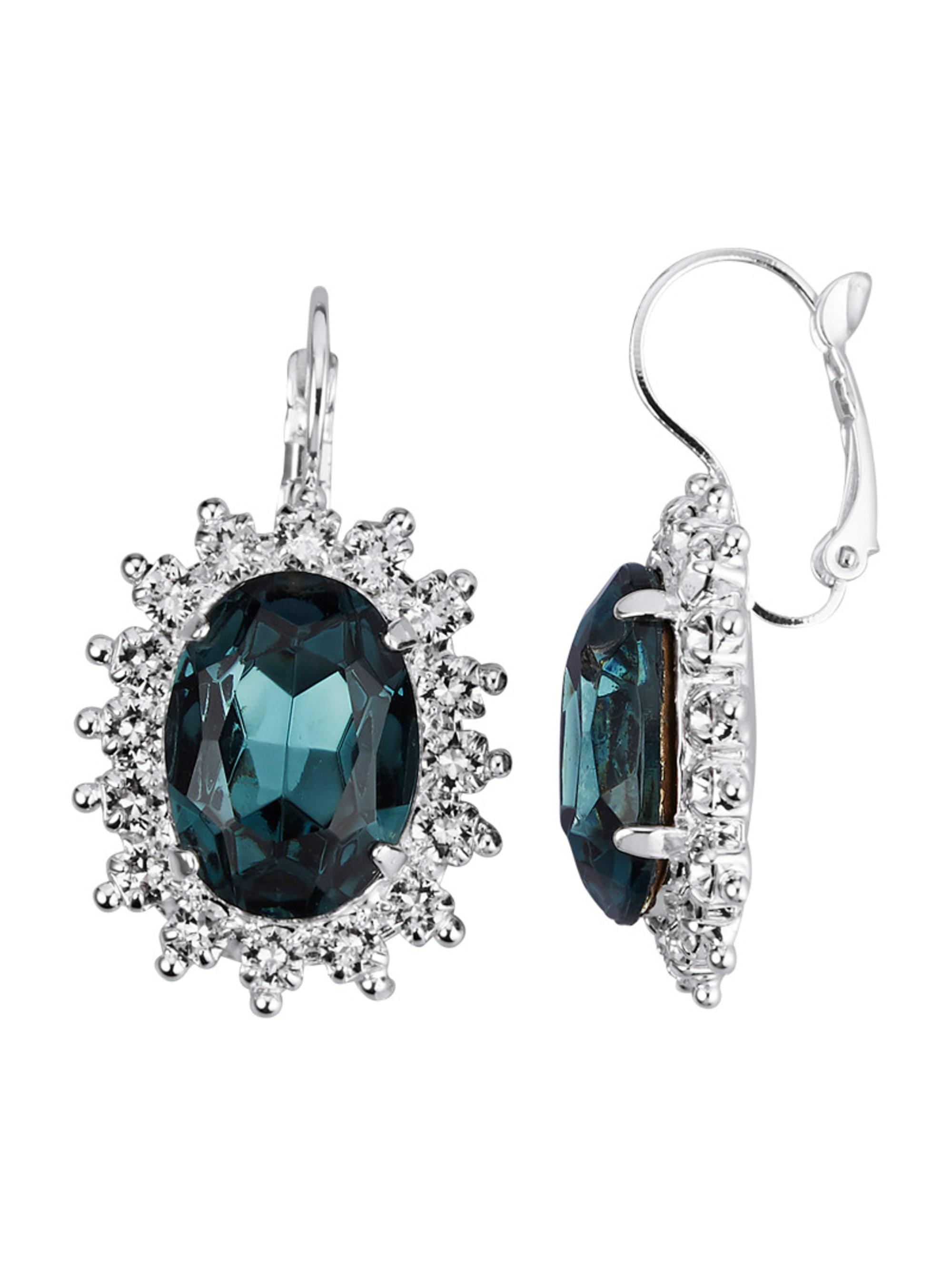 Golden Style Ohrringe mit Kristallen fdBAw