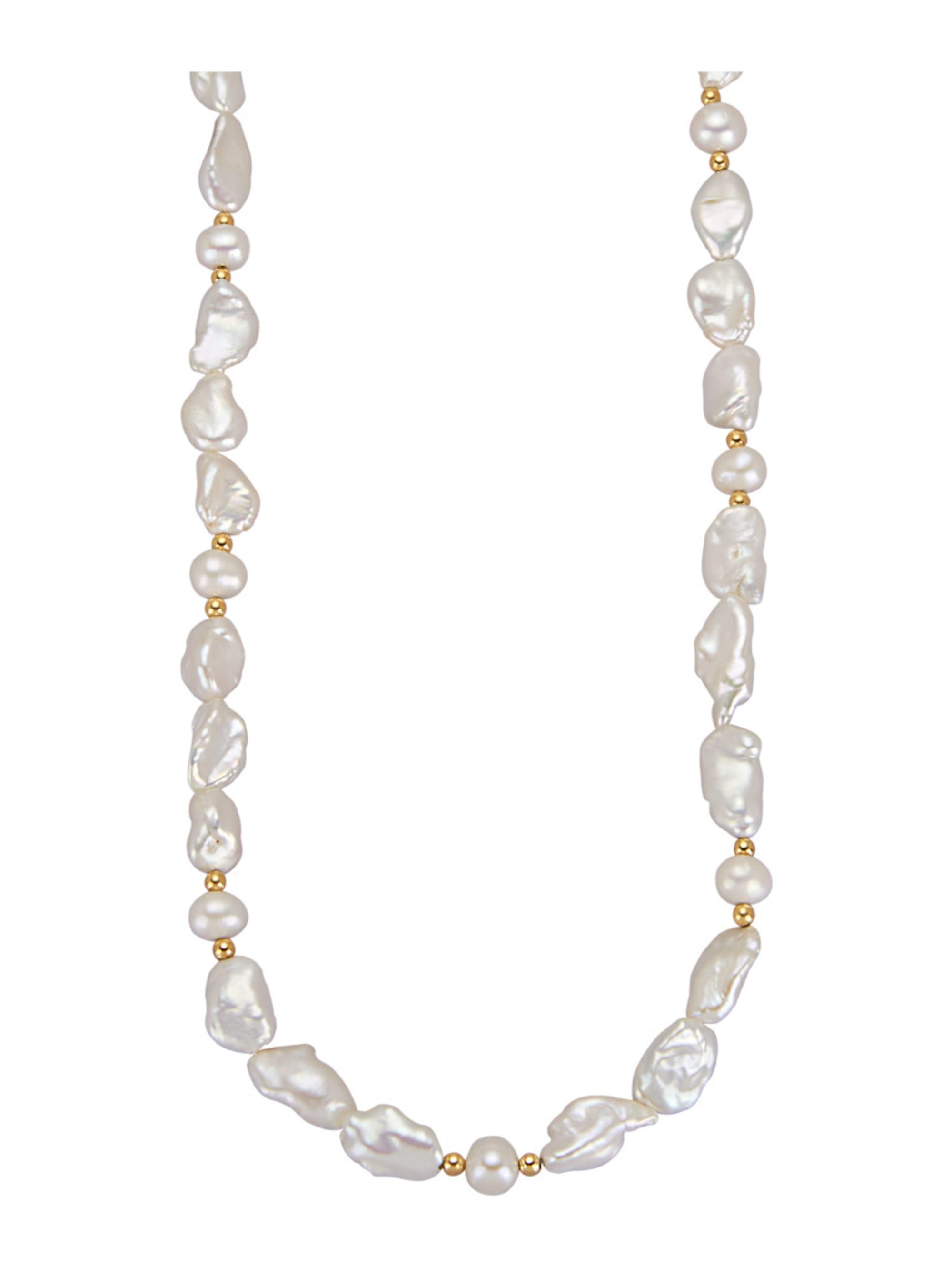 Diemer Highlights Halskette mit Süßwasser-Zuchtperlen mit Süßwasser-Zuchtperlen AoysH