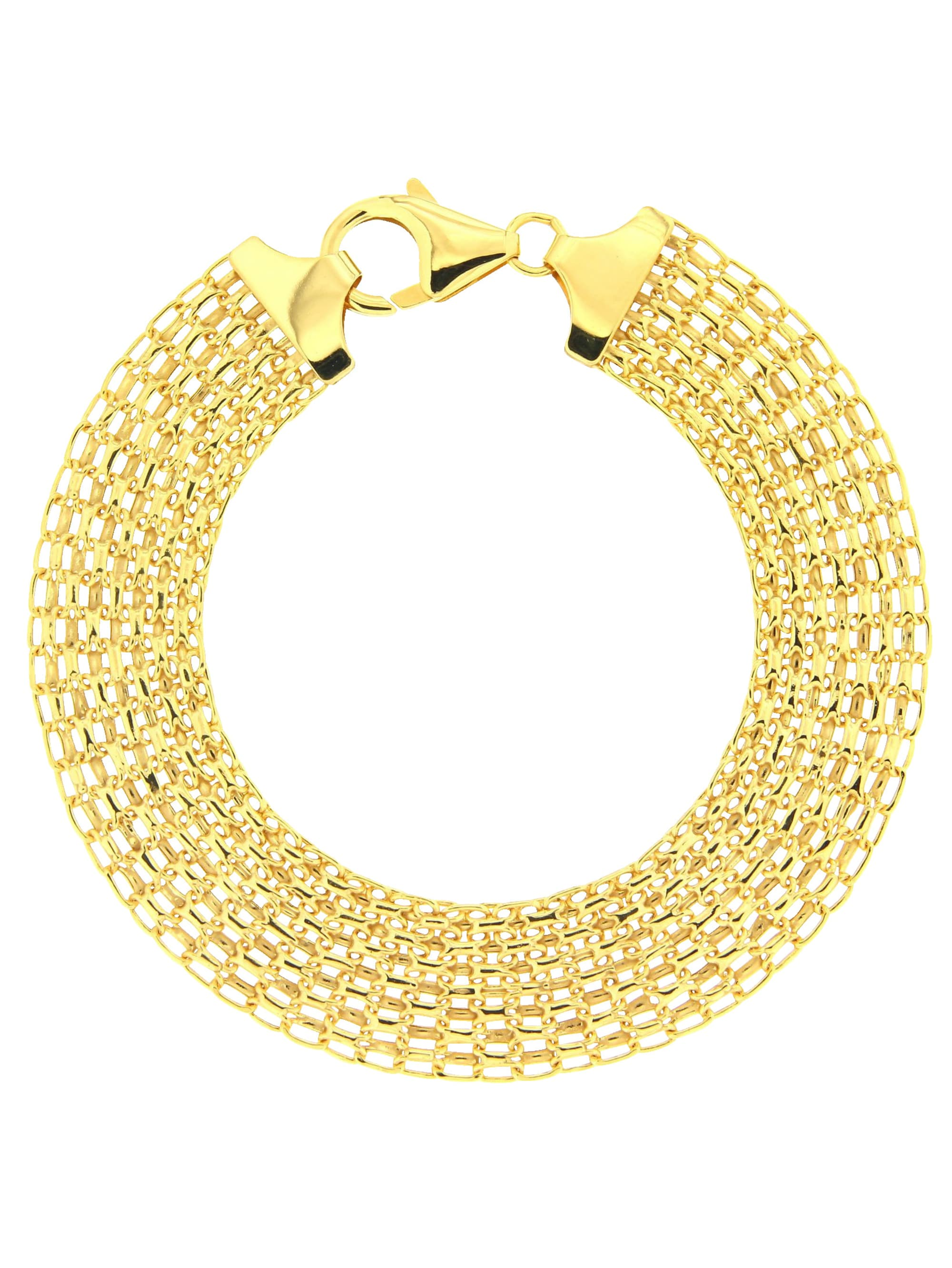 Grazielli Armband in Gelbgold 375 vSeoC