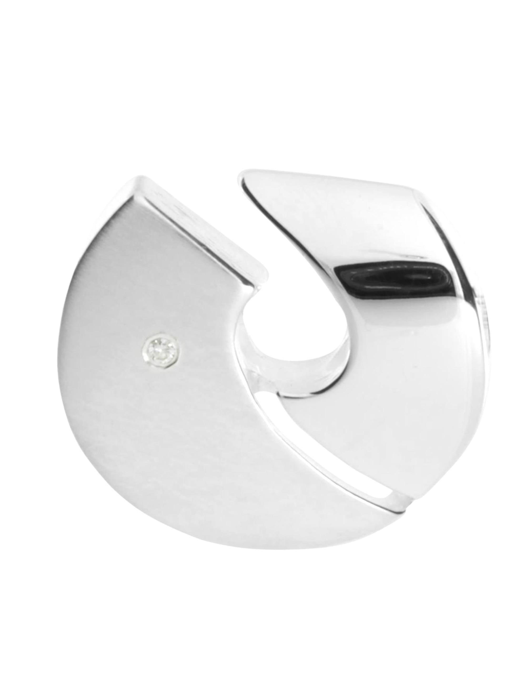 OSTSEE-SCHMUCK Anhänger Gleiter Rica Silber 925/000 Brillant l1duS