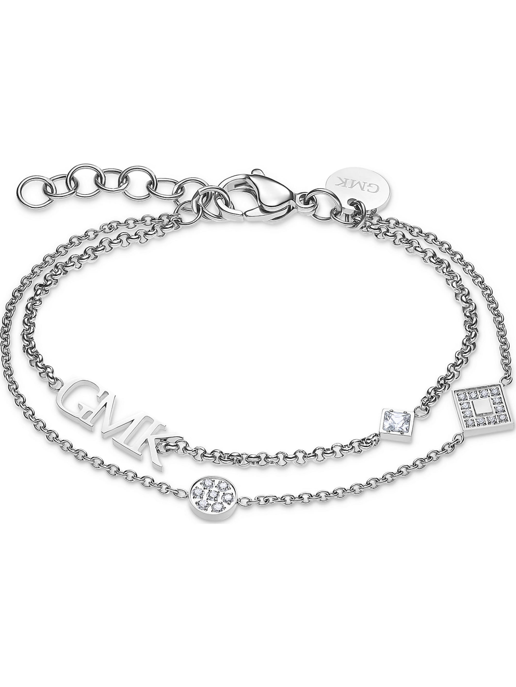 Guido Maria Kretschmer Collec. GMK Collection Damen-Armband Edelstahl 20 Zirkonia VQvgN
