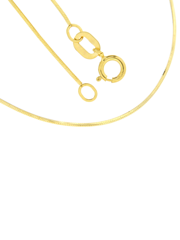 Grazielli Schlangenkette diamantiert 3HRo4